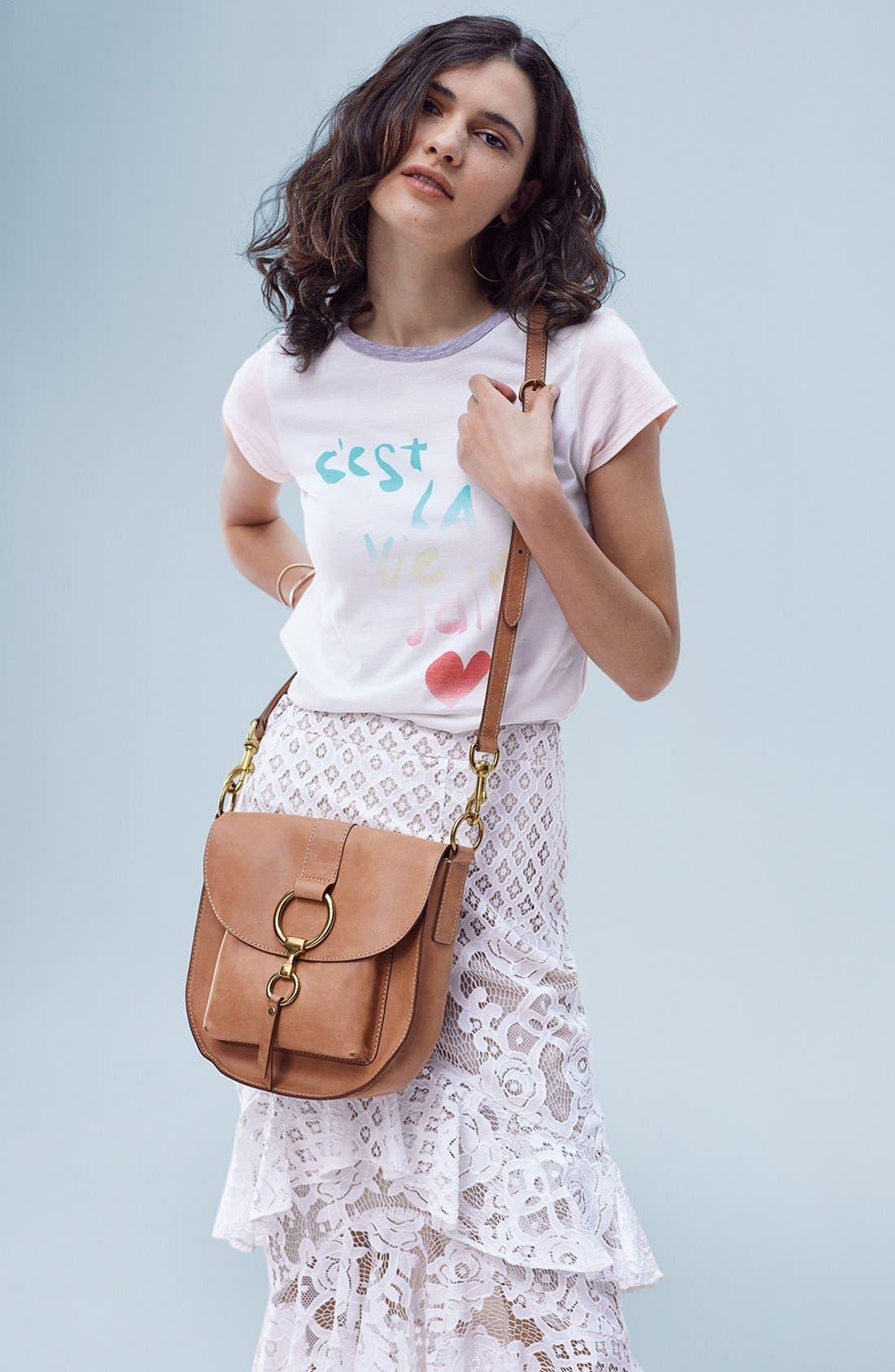 Alternate Image 7  - Chelsea28 Tiered Lace Midi Skirt