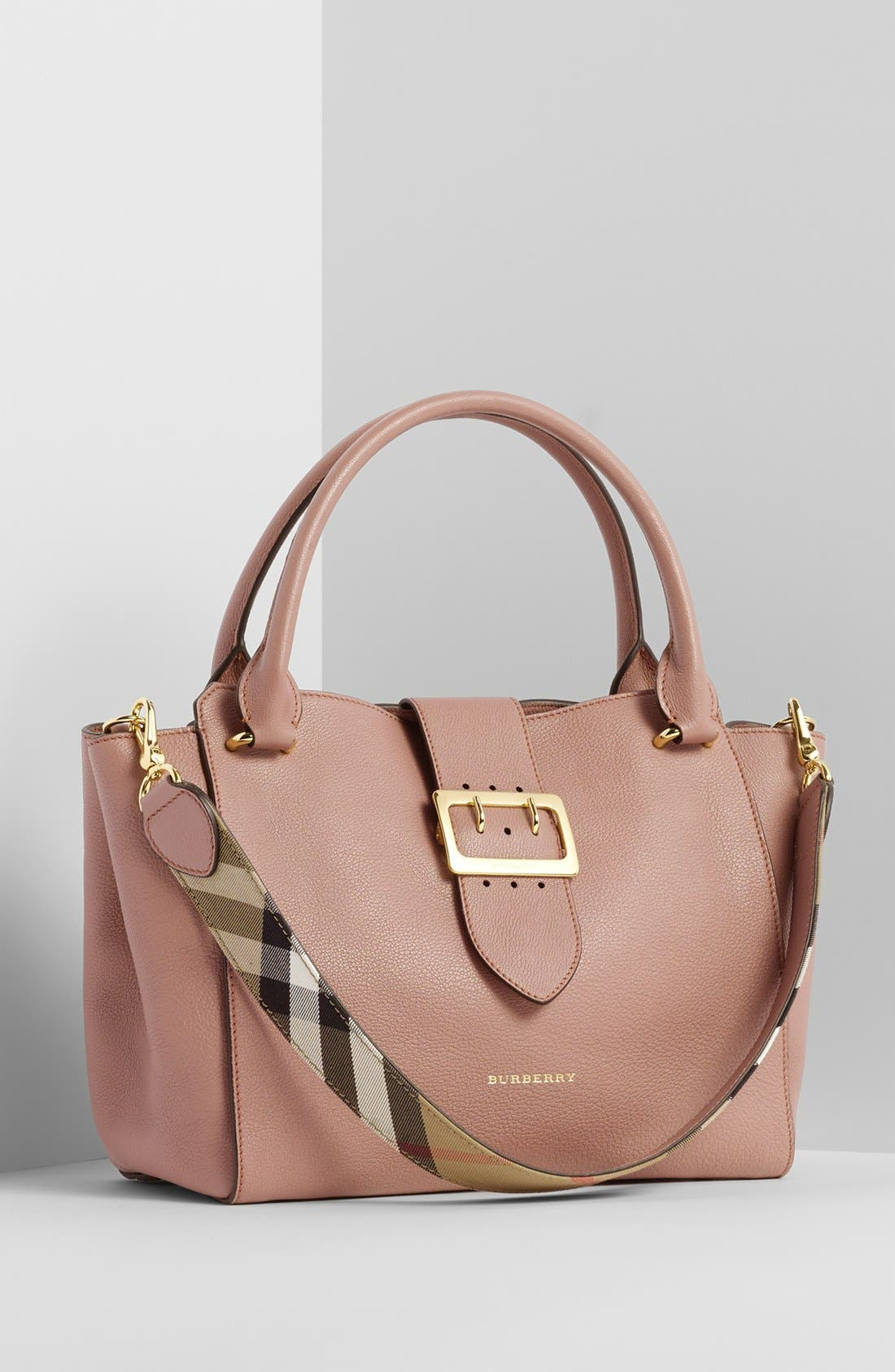 Alternate Image 8  - Burberry Medium Buckle Tote