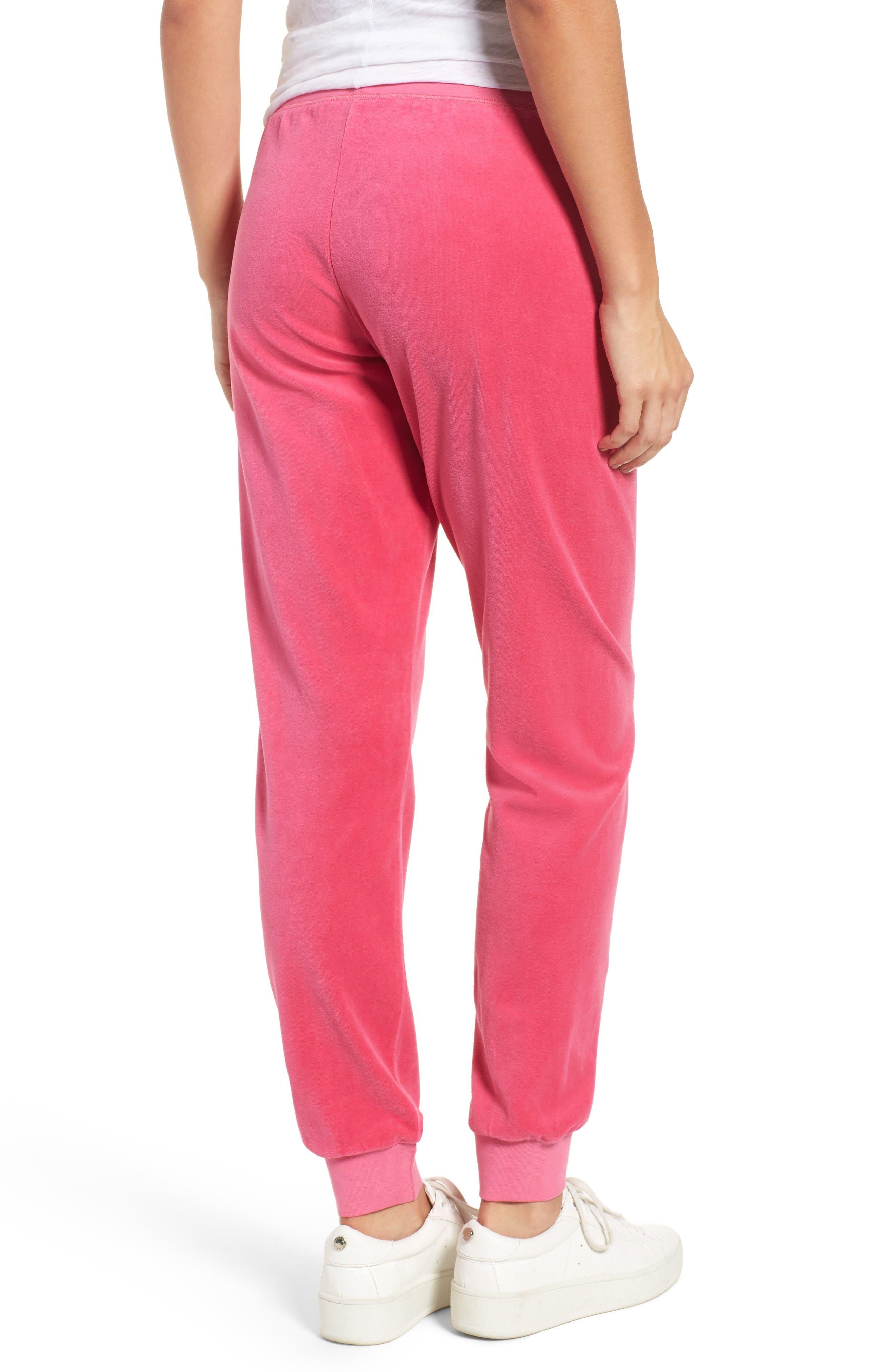 Alternate Image 2  - Juicy Couture Zuma Velour Track Pants
