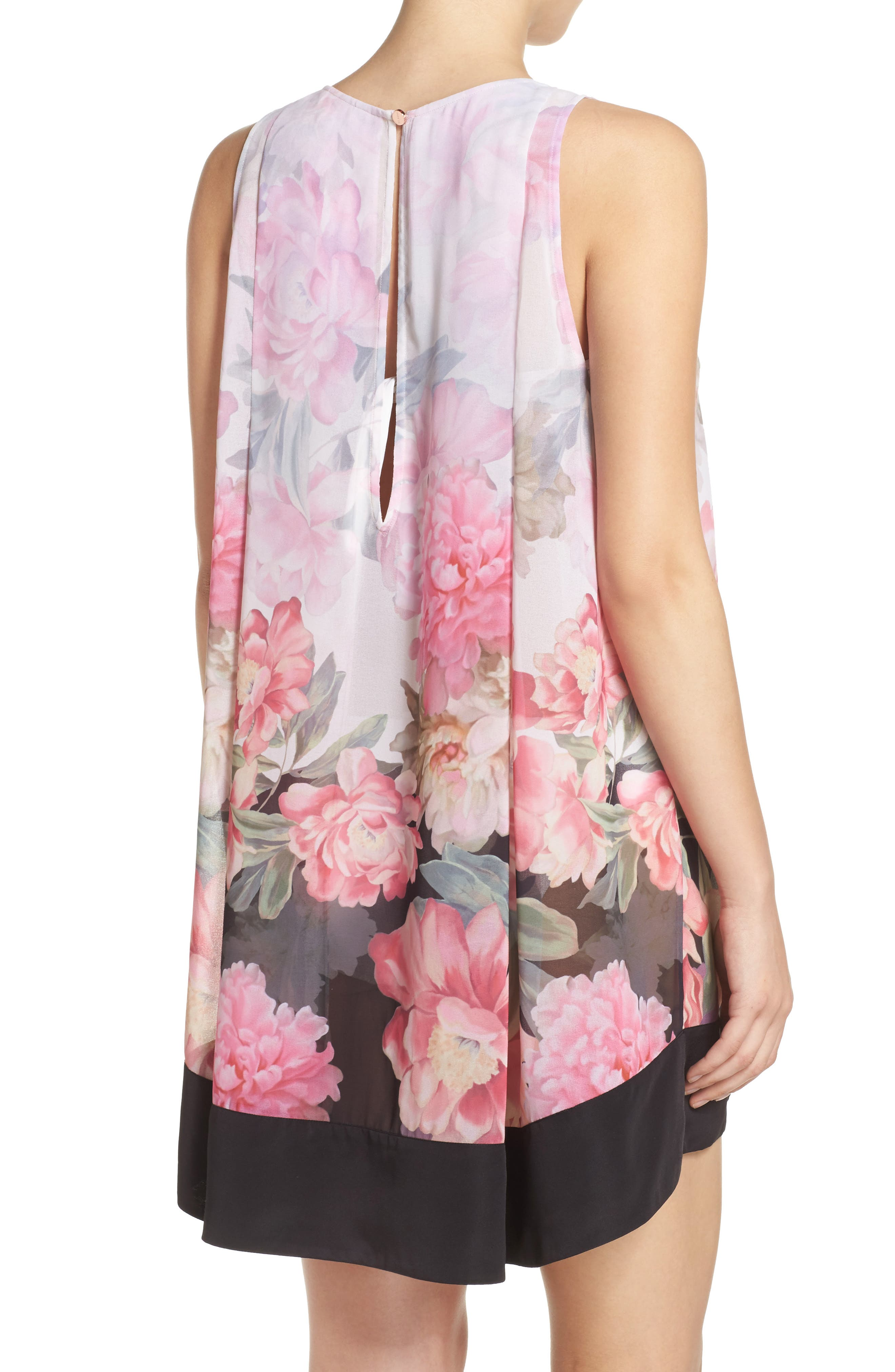 Painted Posie Cover-Up Dress,                             Alternate thumbnail 2, color,                             Baby Pink