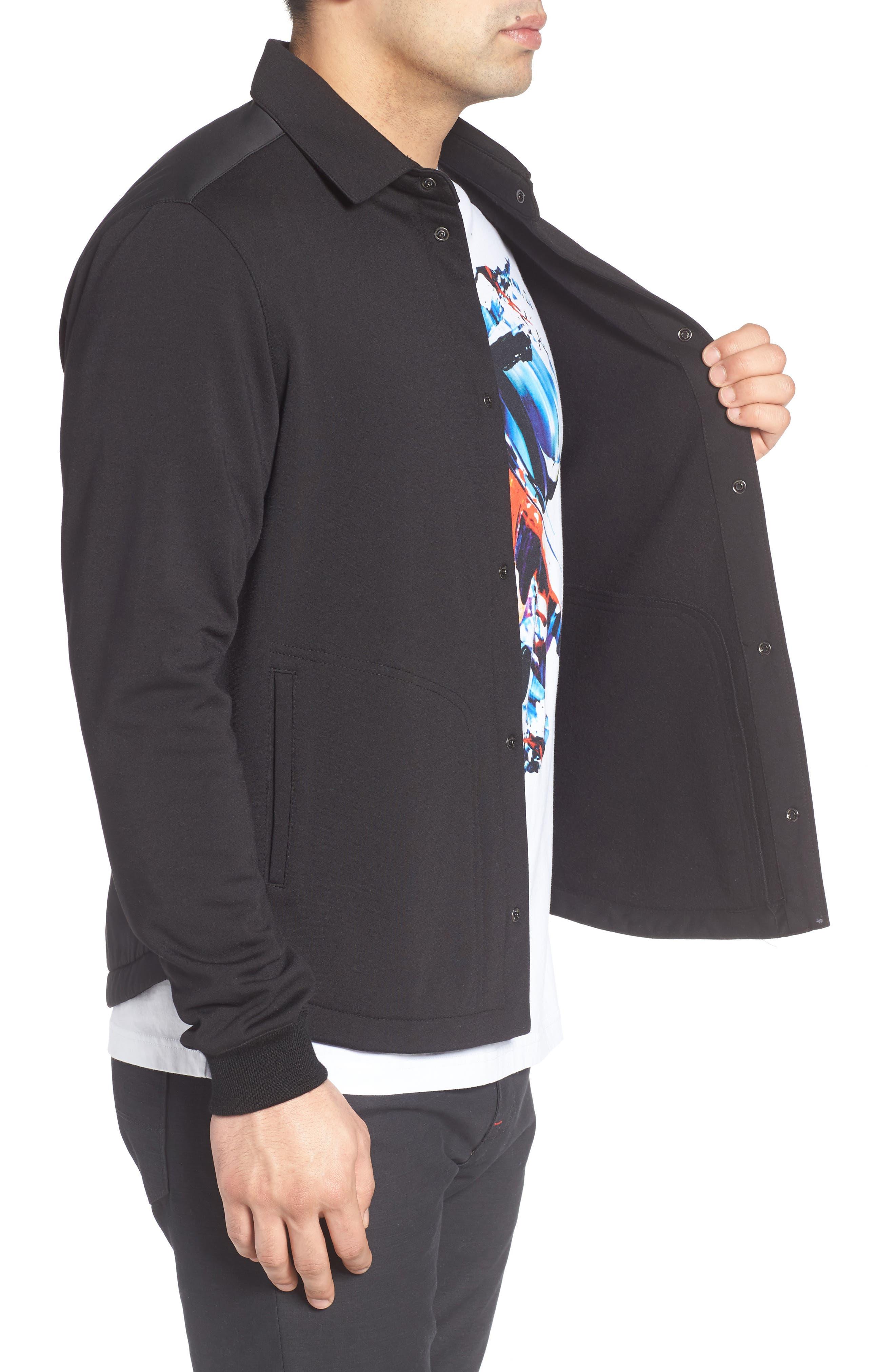 Alternate Image 3  - Bugatchi Snap Jacket