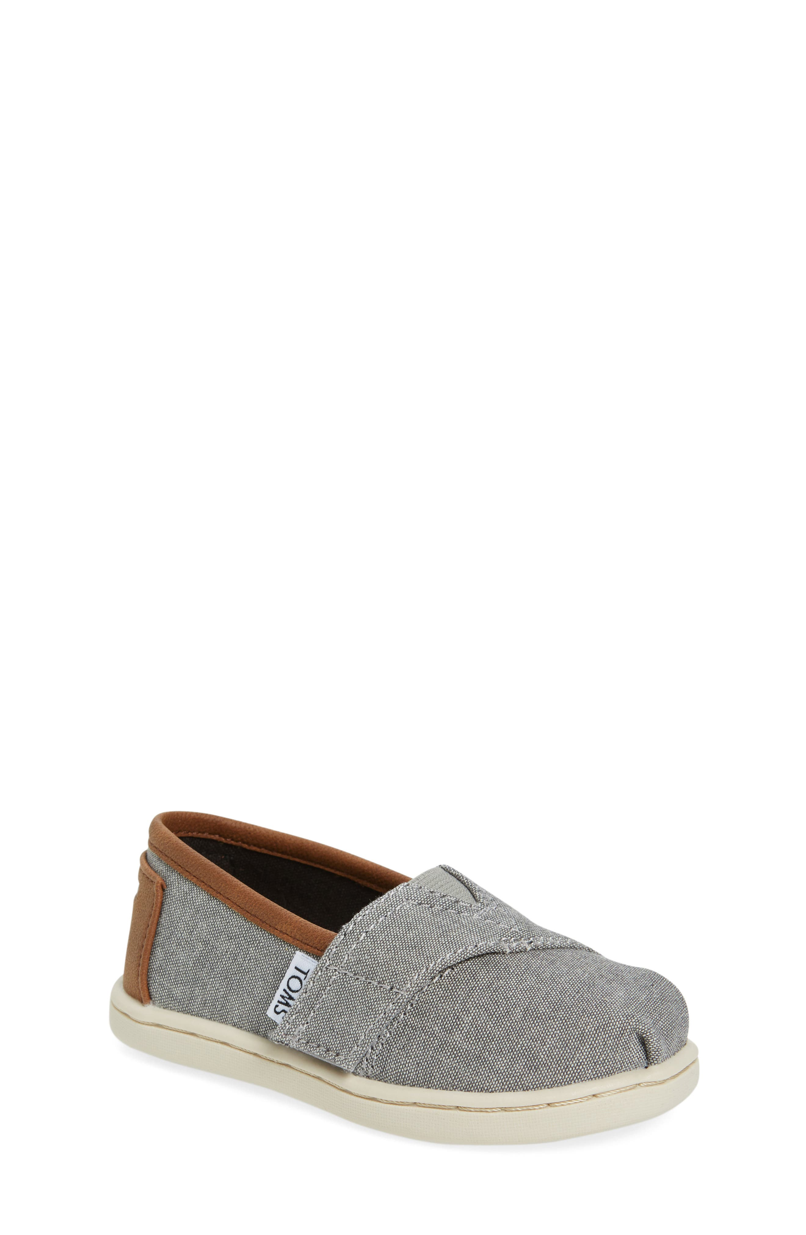 TOMS Chambray Slip-On