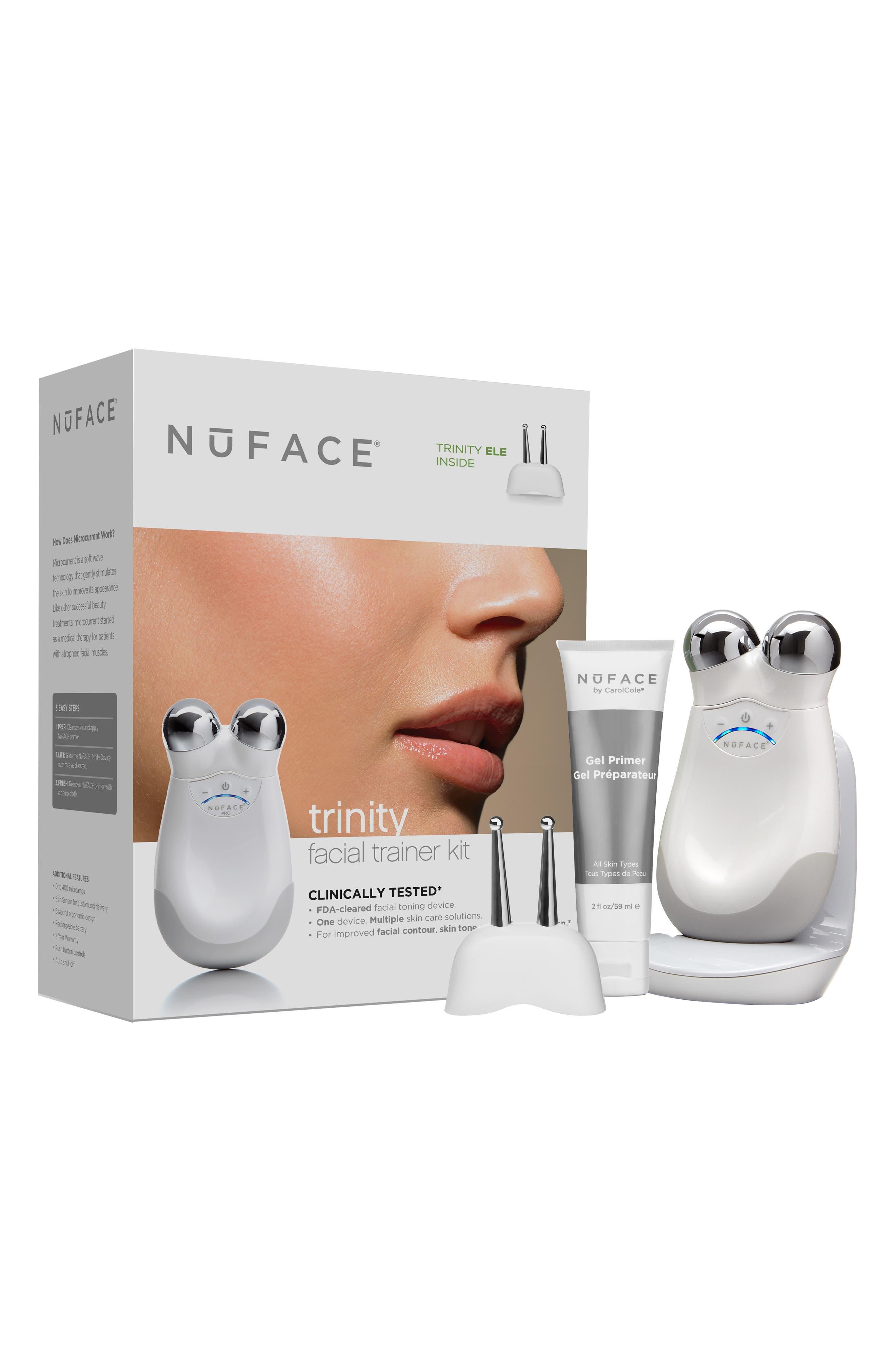Alternate Image 1 Selected - NuFACE® 'Trinity®' Facial Trainer Kit + Trinity Eye & Lip Enhancer Attachment ($474 Value)