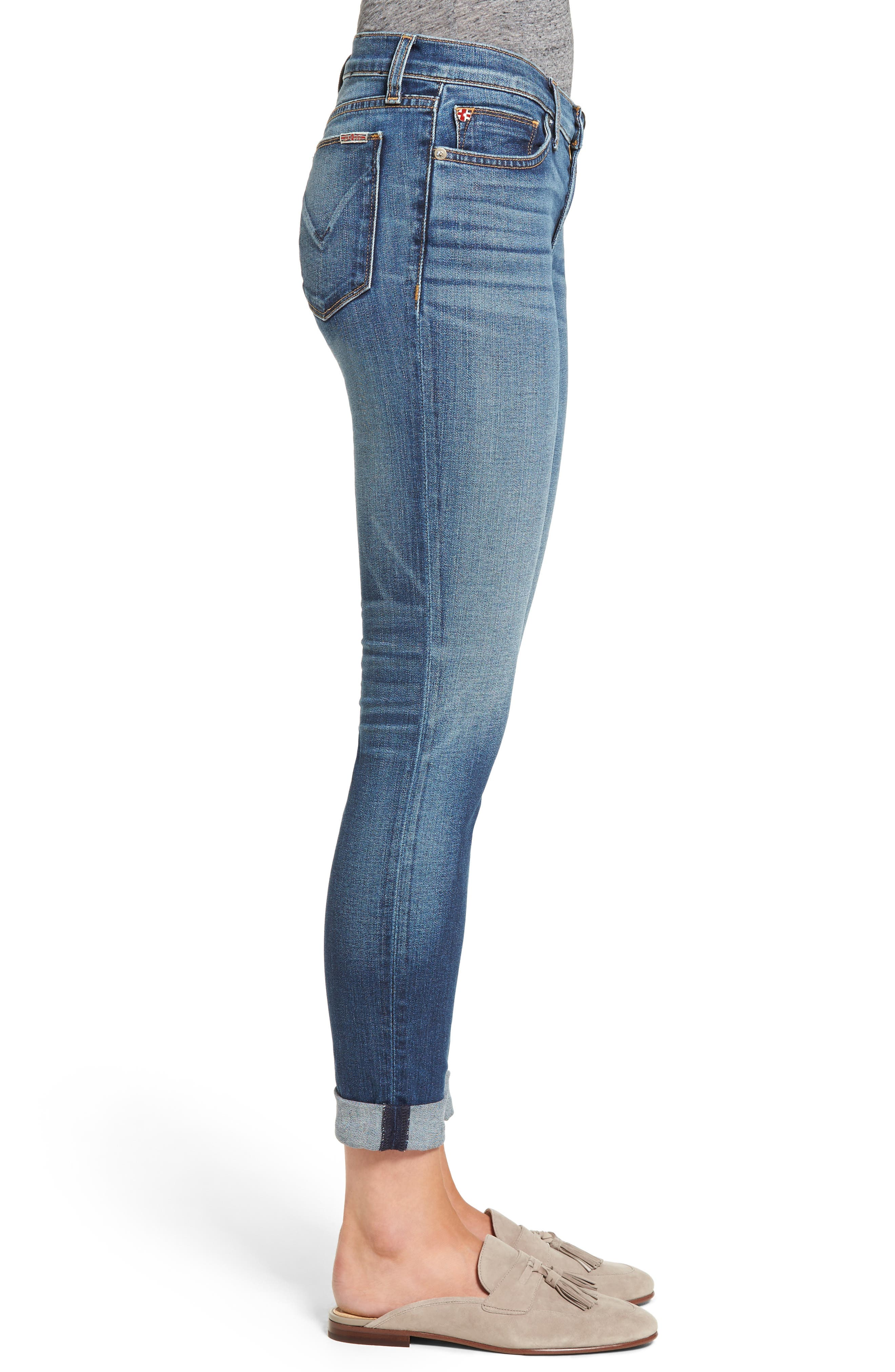 Tally Crop Skinny Jeans,                             Alternate thumbnail 3, color,                             Contender