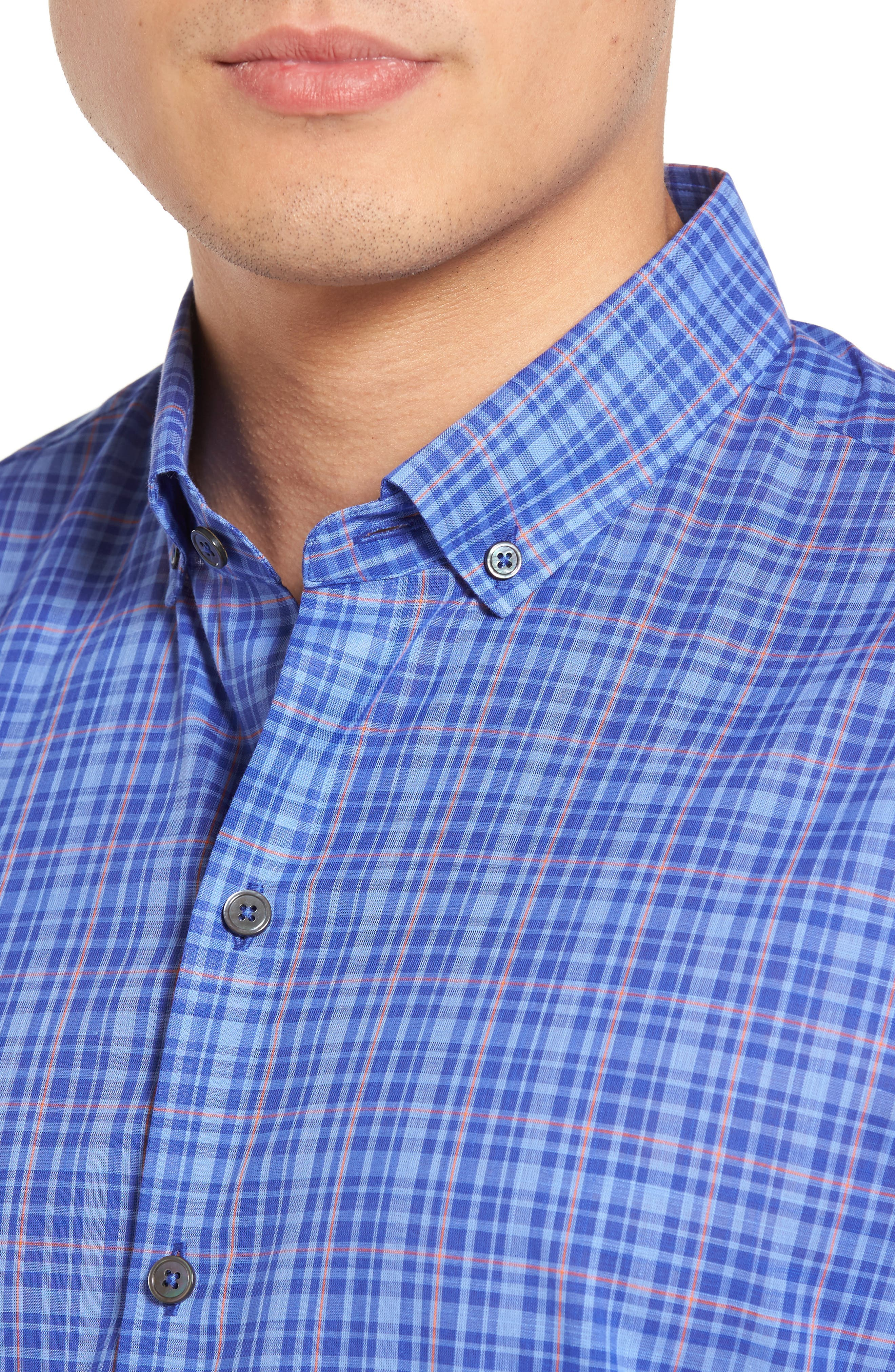 Alternate Image 4  - Zachary Prell Shammas Plaid Sport Shirt