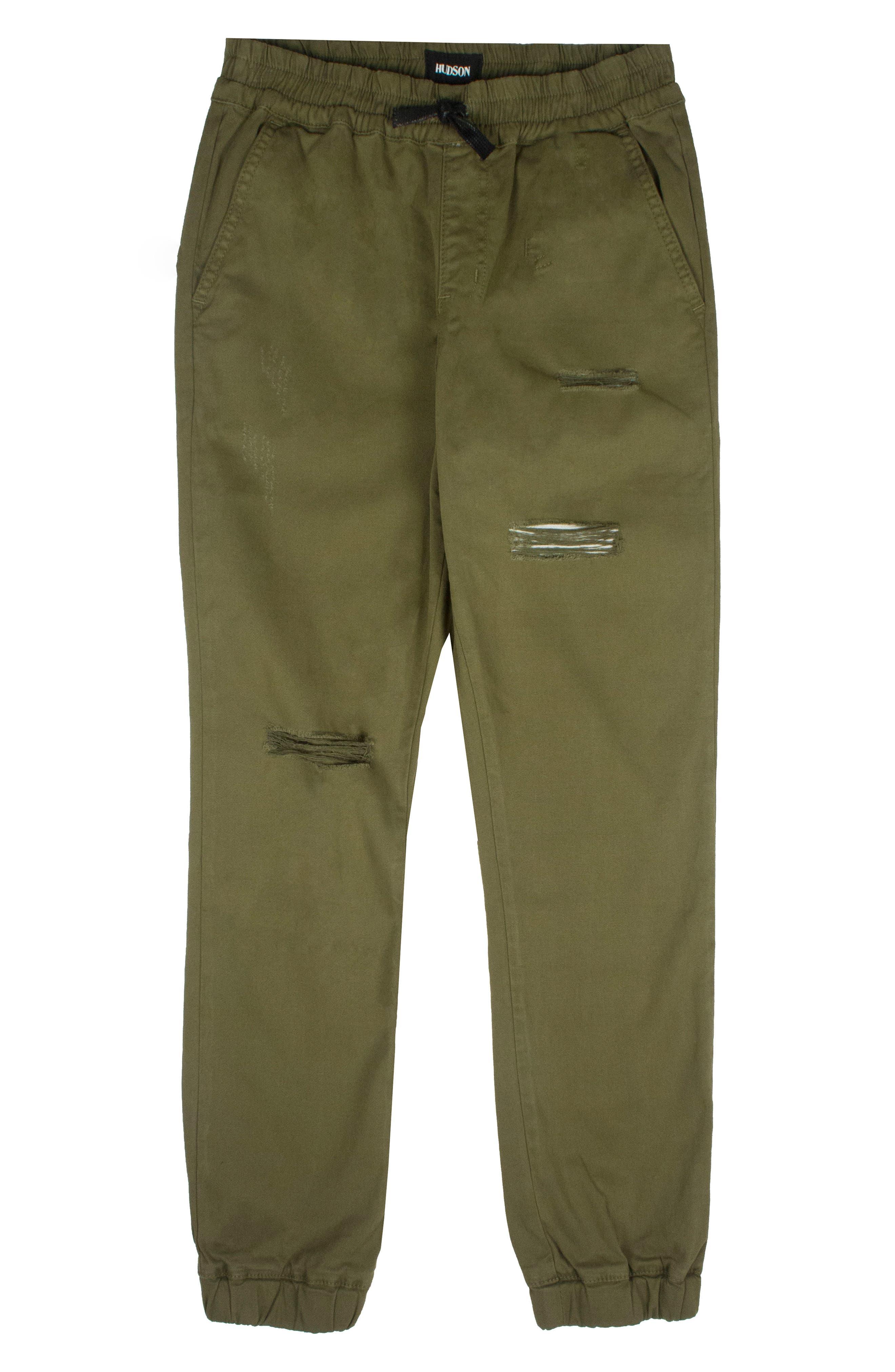 Charlie Jogger Pants,                         Main,                         color, Olive Green