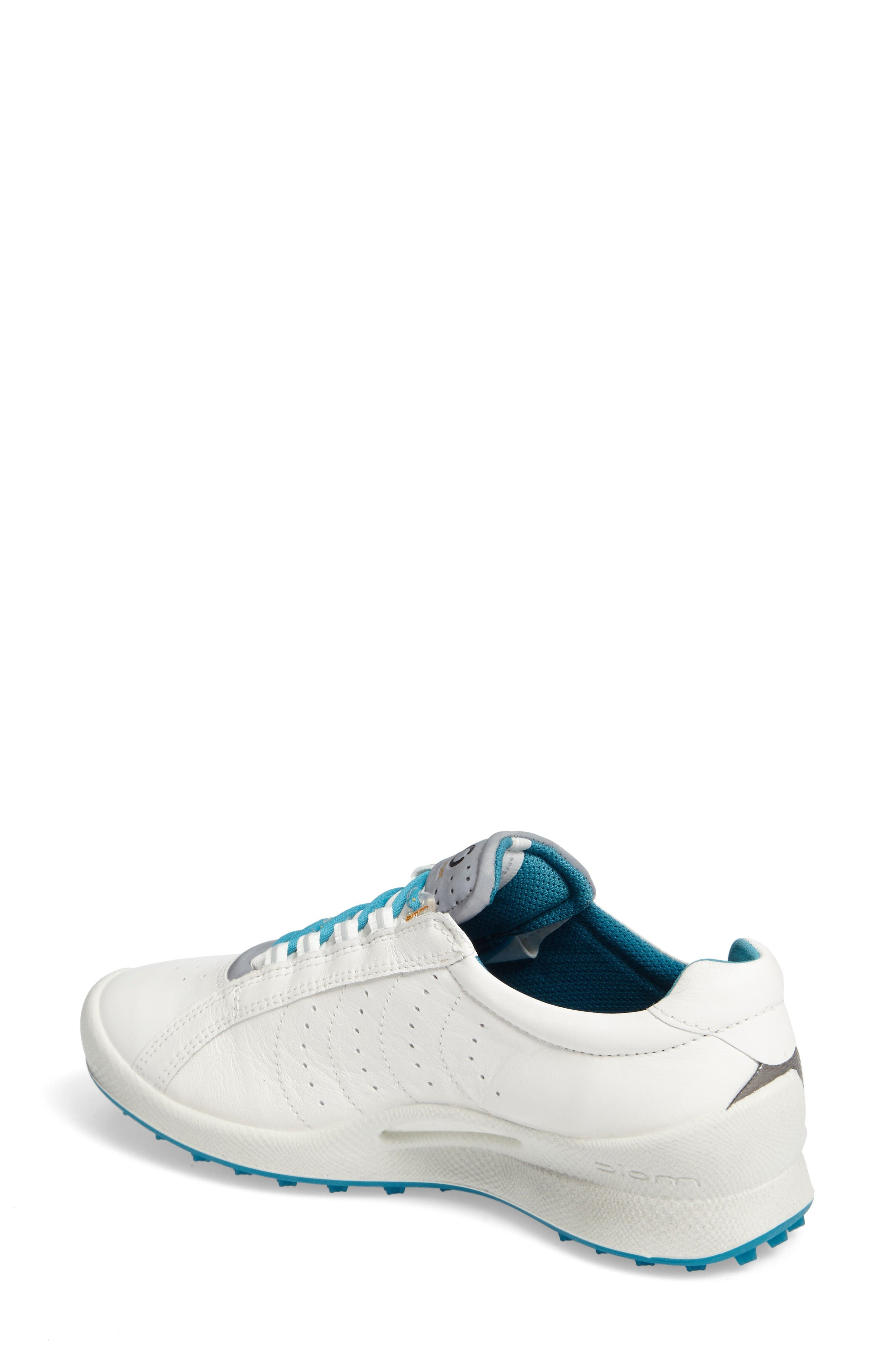 Biom 2 Waterproof Golf Shoe,                             Alternate thumbnail 2, color,                             White