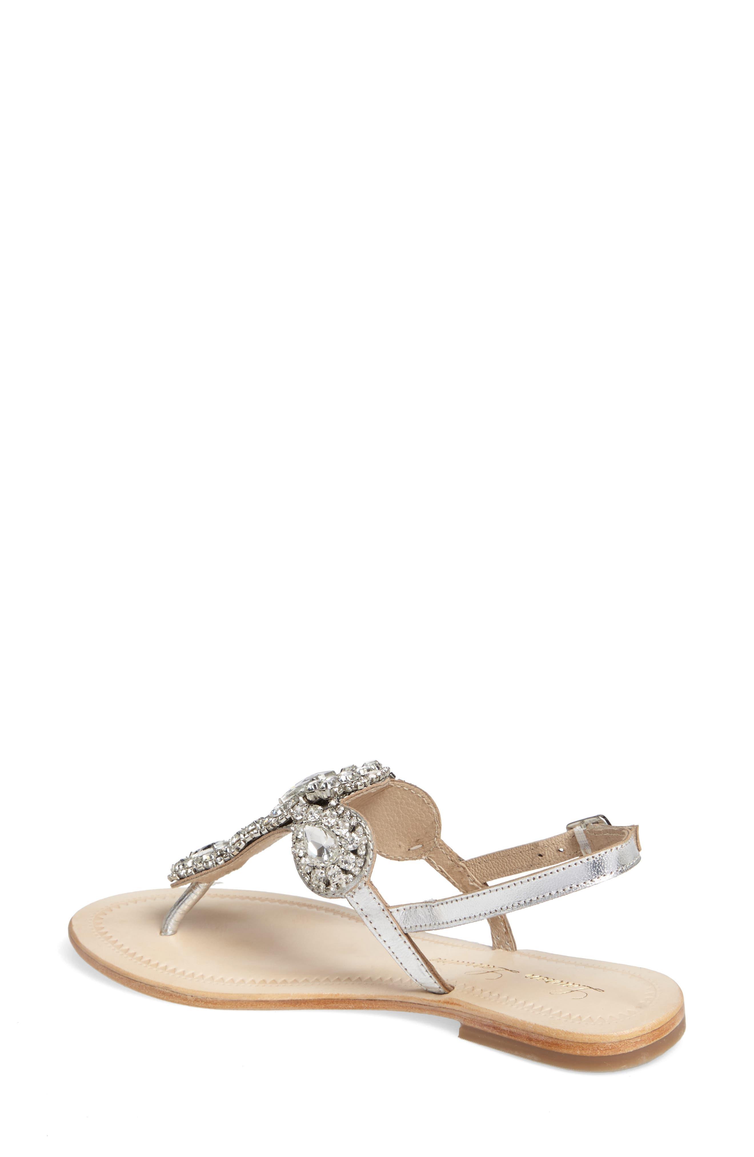 Alternate Image 2  - Lauren Lorraine Bahama Crystal Embellished Sandal (Women)