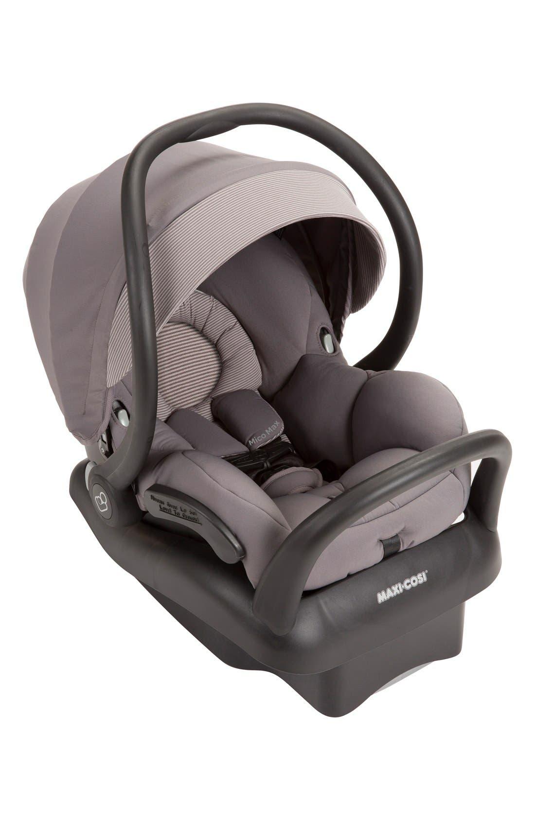 Mico Max 30 Infant Car Seat,                             Main thumbnail 1, color,                             Grey Gravel
