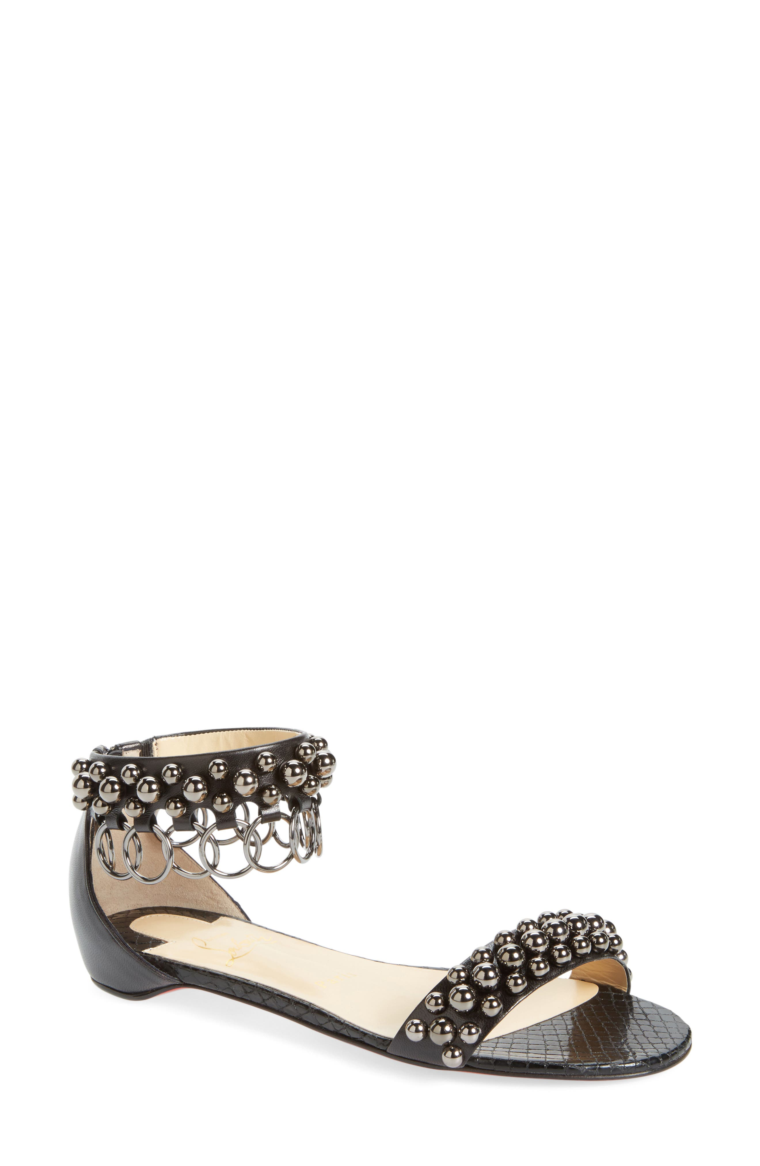 Main Image - Christian Louboutin Gypso Ringlet Sandal
