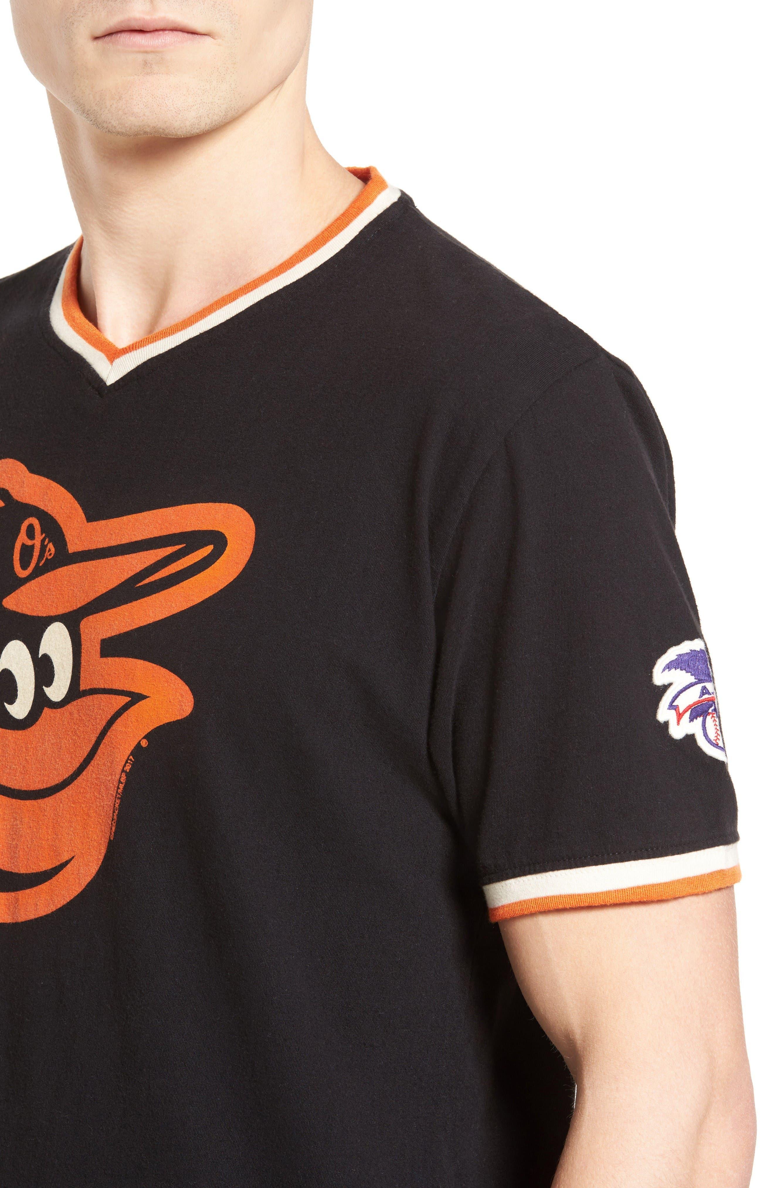 Eastwood Baltimore Orioles T-Shirt,                             Alternate thumbnail 4, color,                             Black