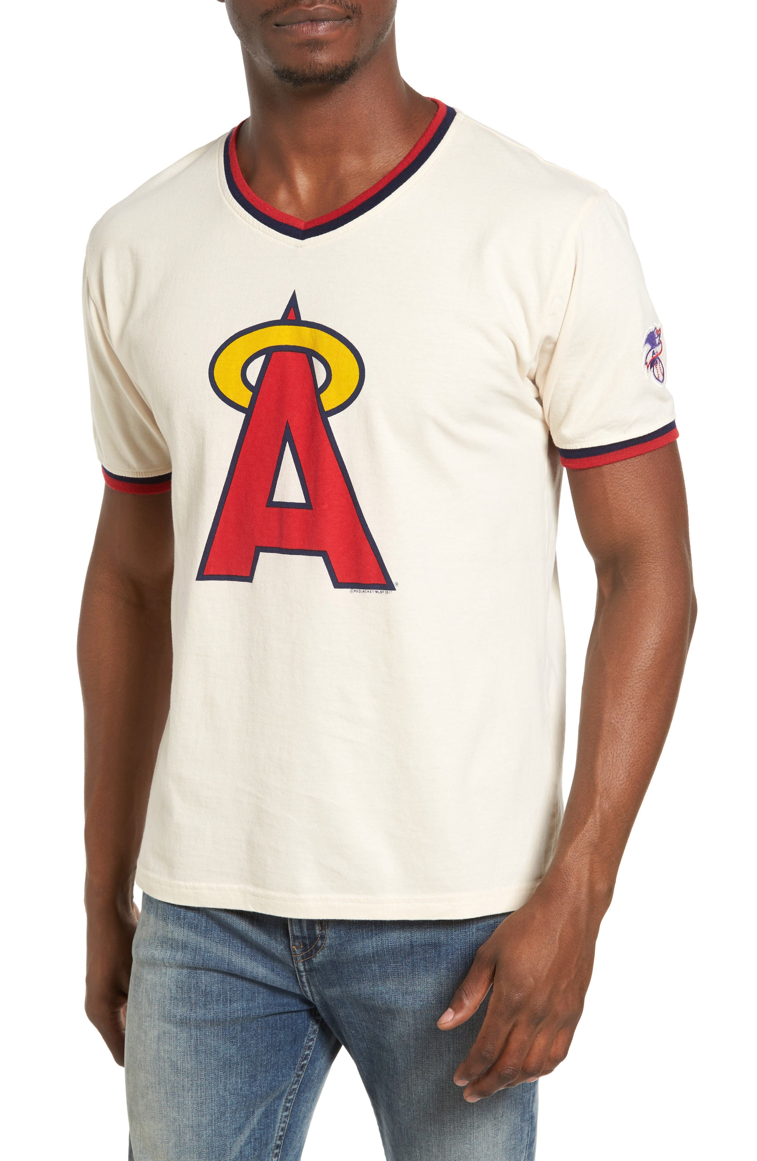 Eastwood Los Angeles Angels of Anaheim T-Shirt,                         Main,                         color, Cream