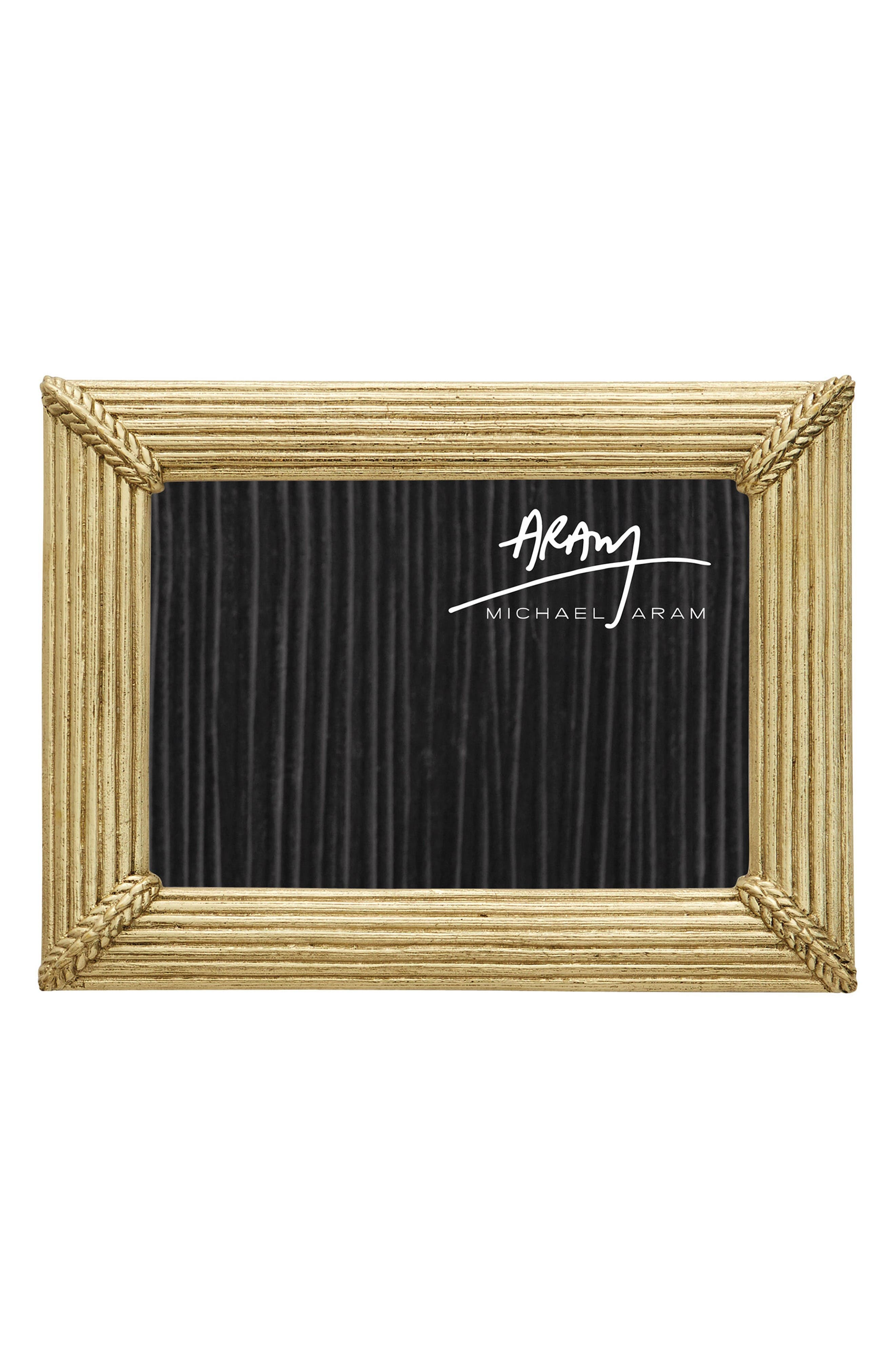 Wheat Picture Frame,                         Main,                         color, Gold