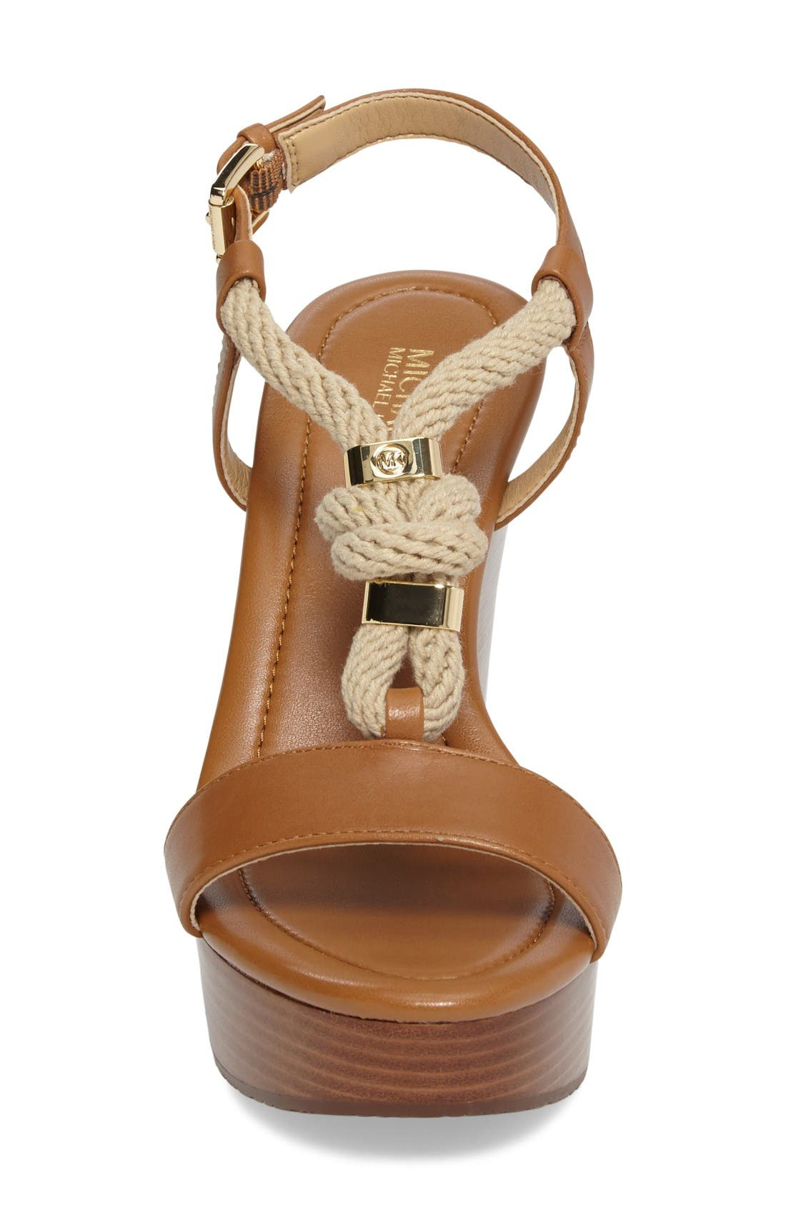 Alternate Image 4  - MICHAEL Michael Kors 'Holly' Espadrille Wedge Sandal (Women)