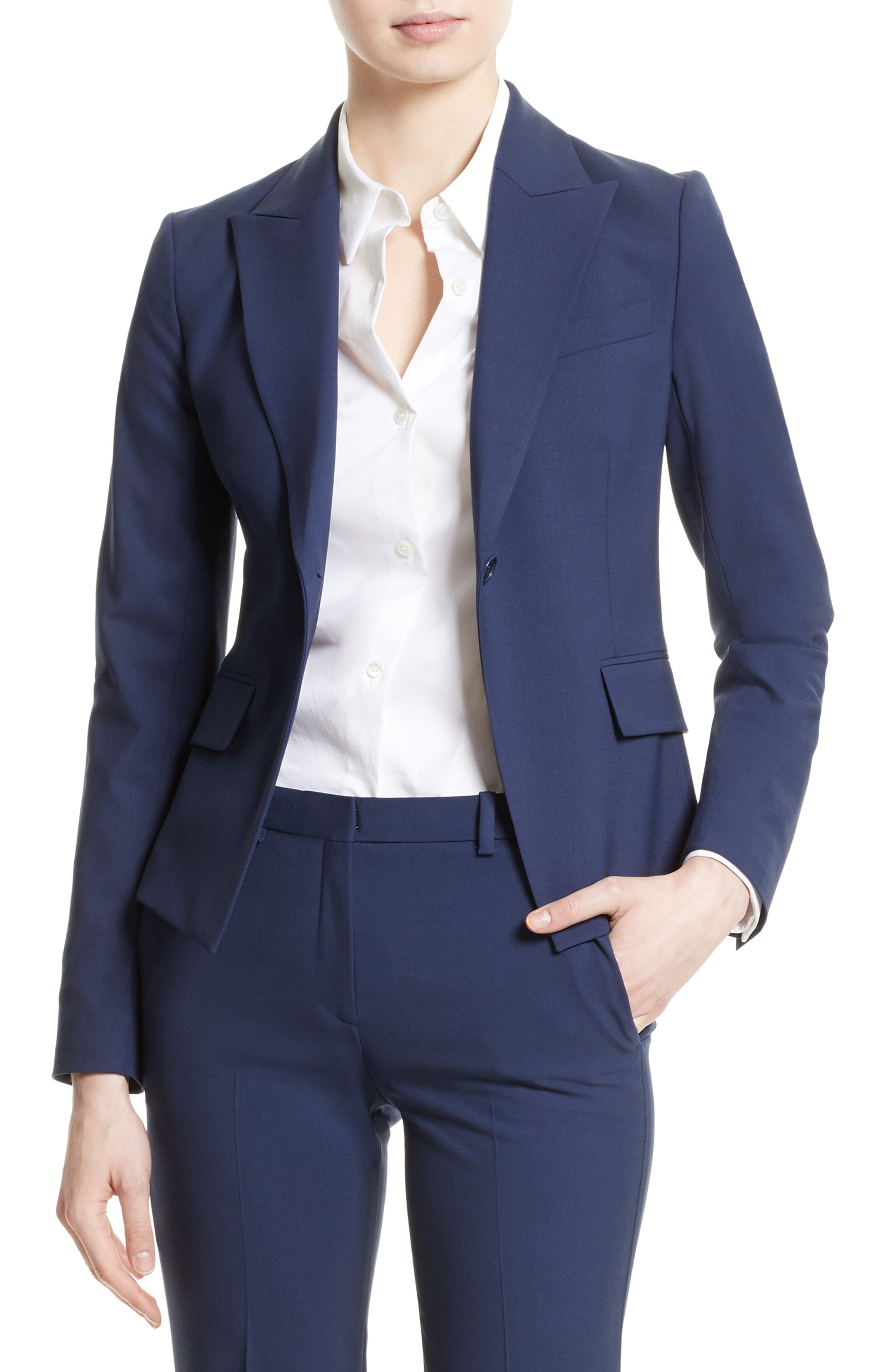 Theory Brince B Stretch Wool Jacket (Nordstrom Exclusive)