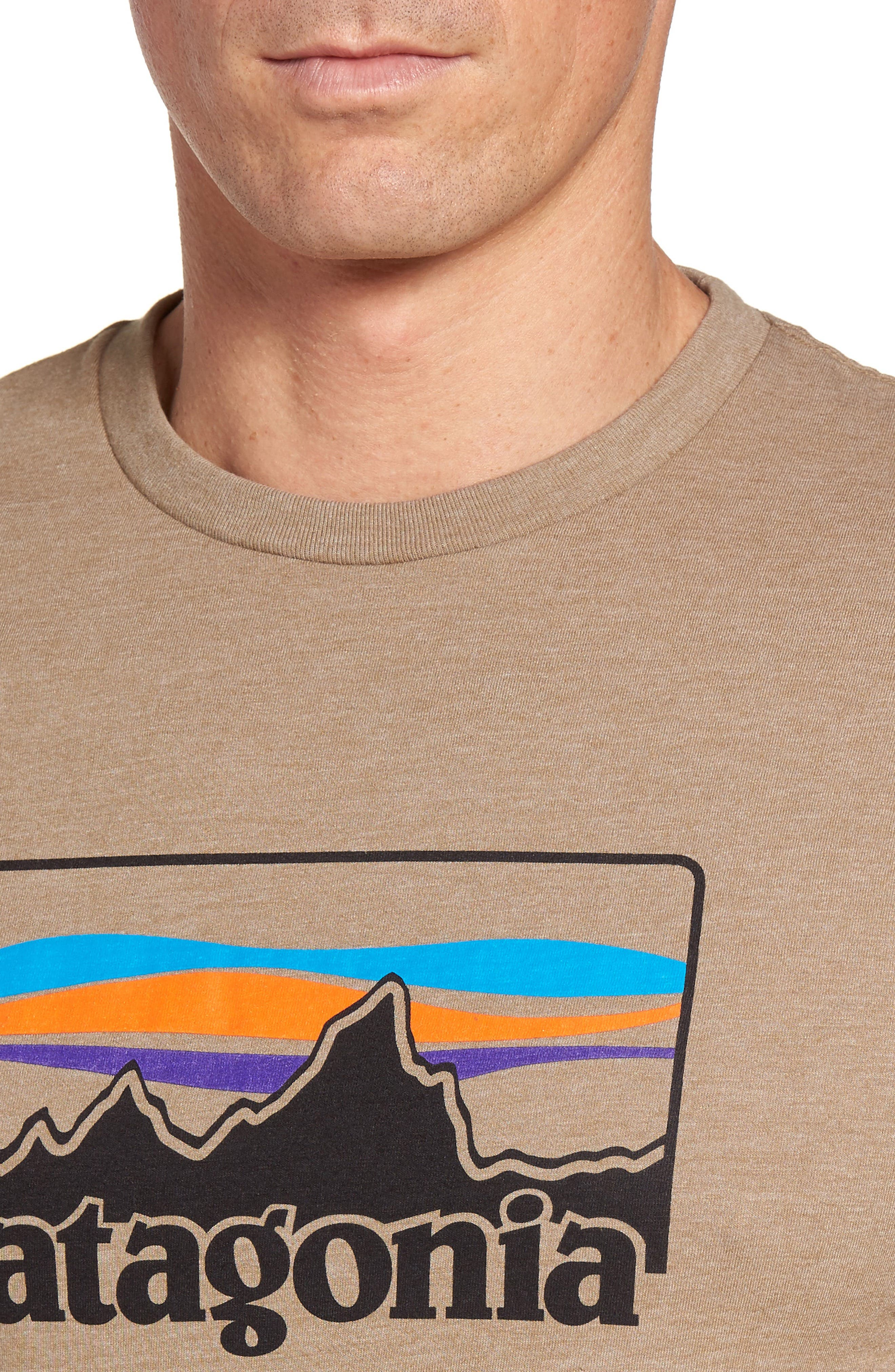 '73 Logo Regular Fit T-Shirt,                             Alternate thumbnail 4, color,                             Mojave Khaki