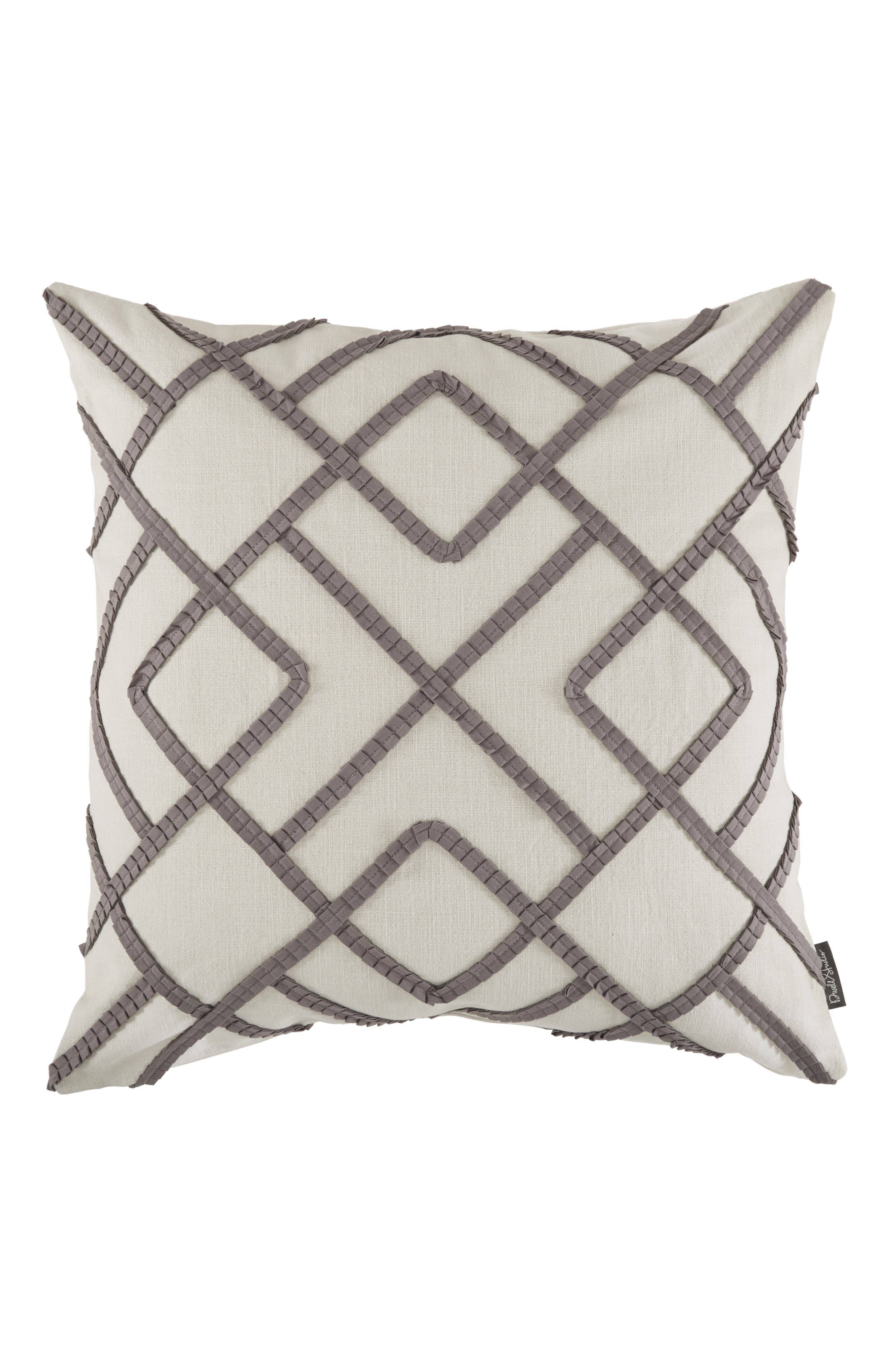 Windsor Accent Pillow,                         Main,                         color, Pewter