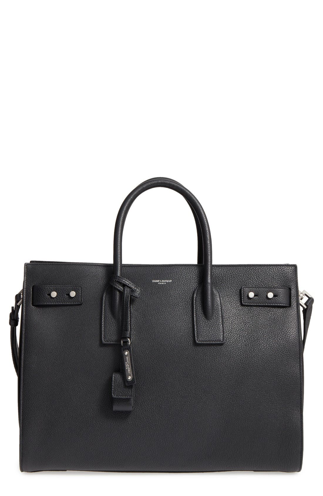 Alternate Image 1 Selected - Saint Laurent Medium Sac de Jour Grained Leather Tote