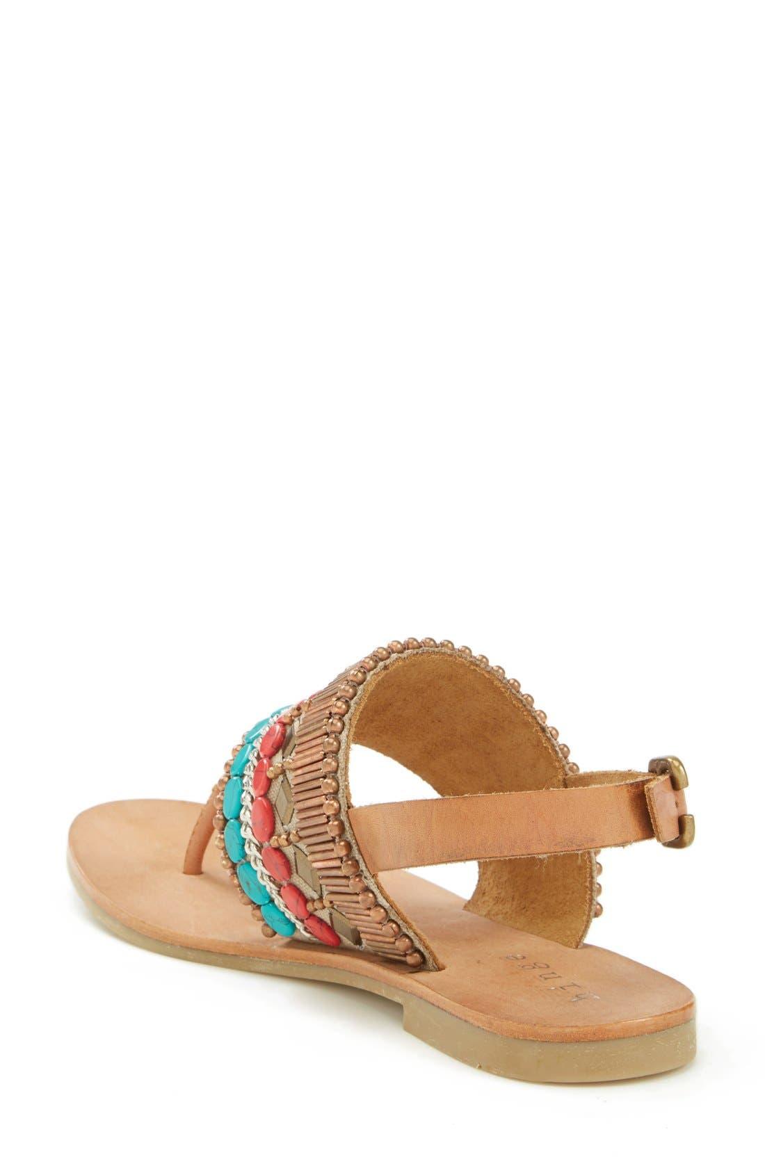 Alternate Image 2  - Hinge Beaded Thong Sandal (Women)