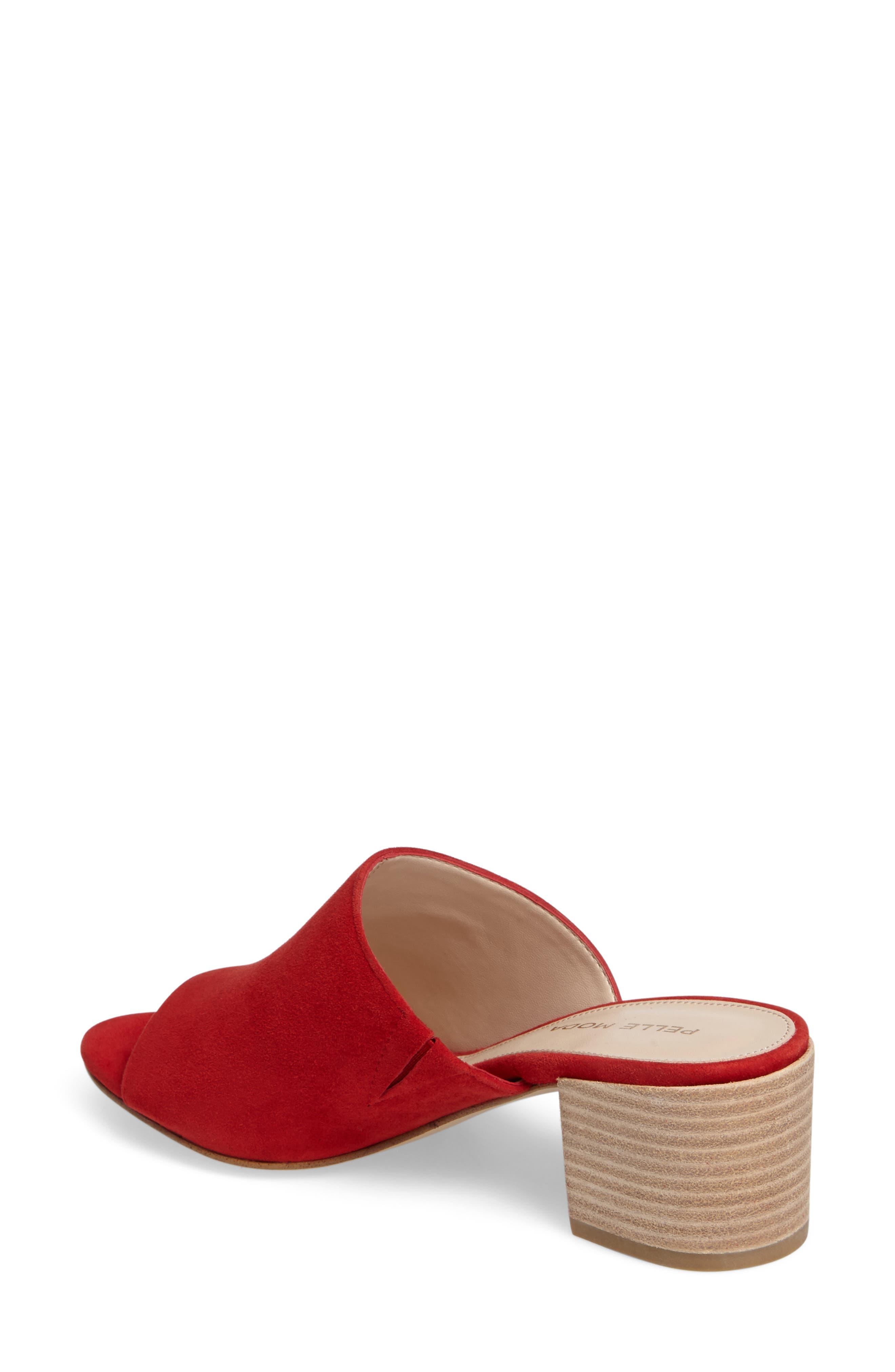 Alternate Image 2  - Pelle Moda Union Block Heel Mule (Women)