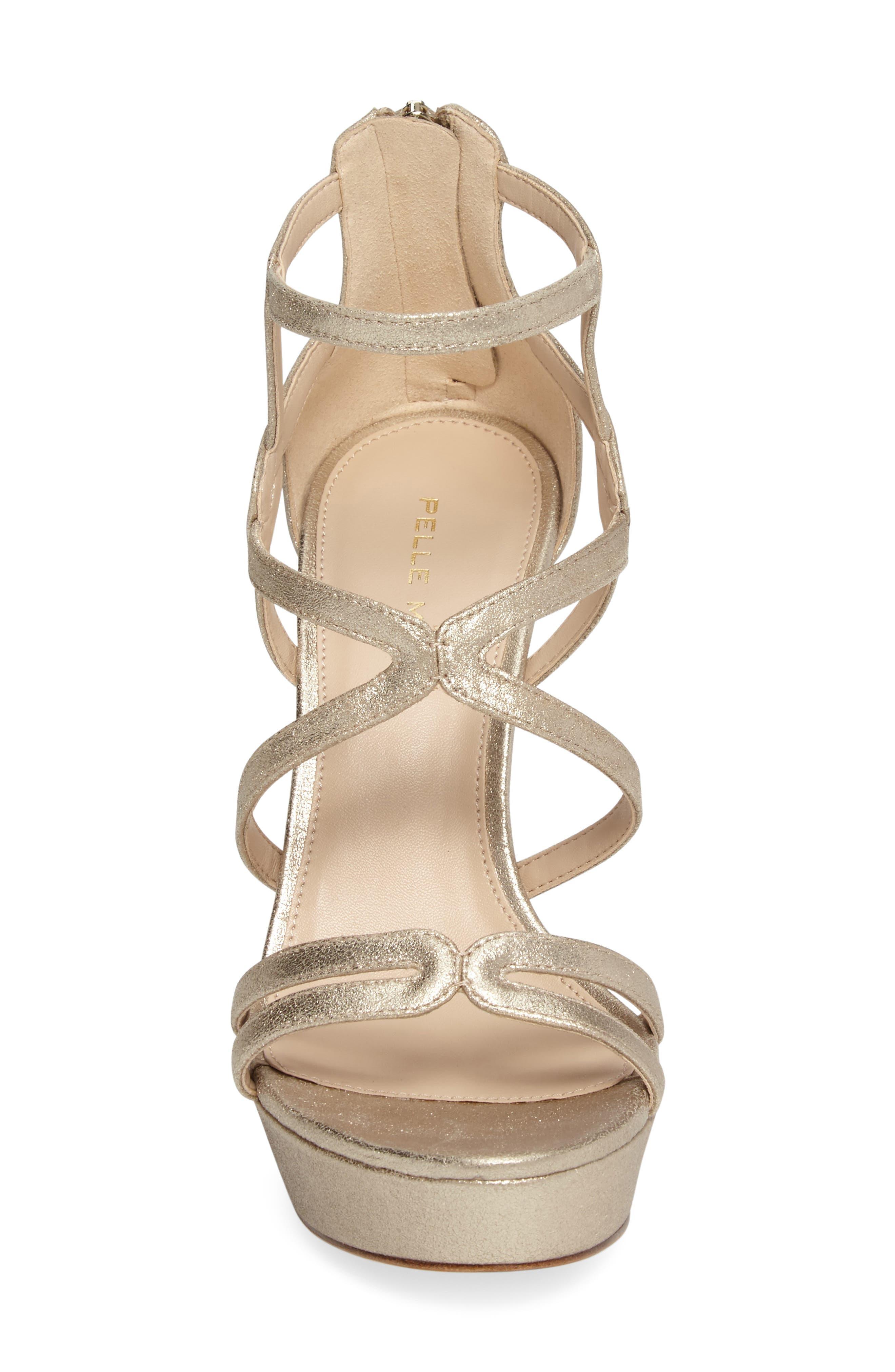 Alternate Image 4  - Pelle Moda Olympic Platform Sandal (Women)