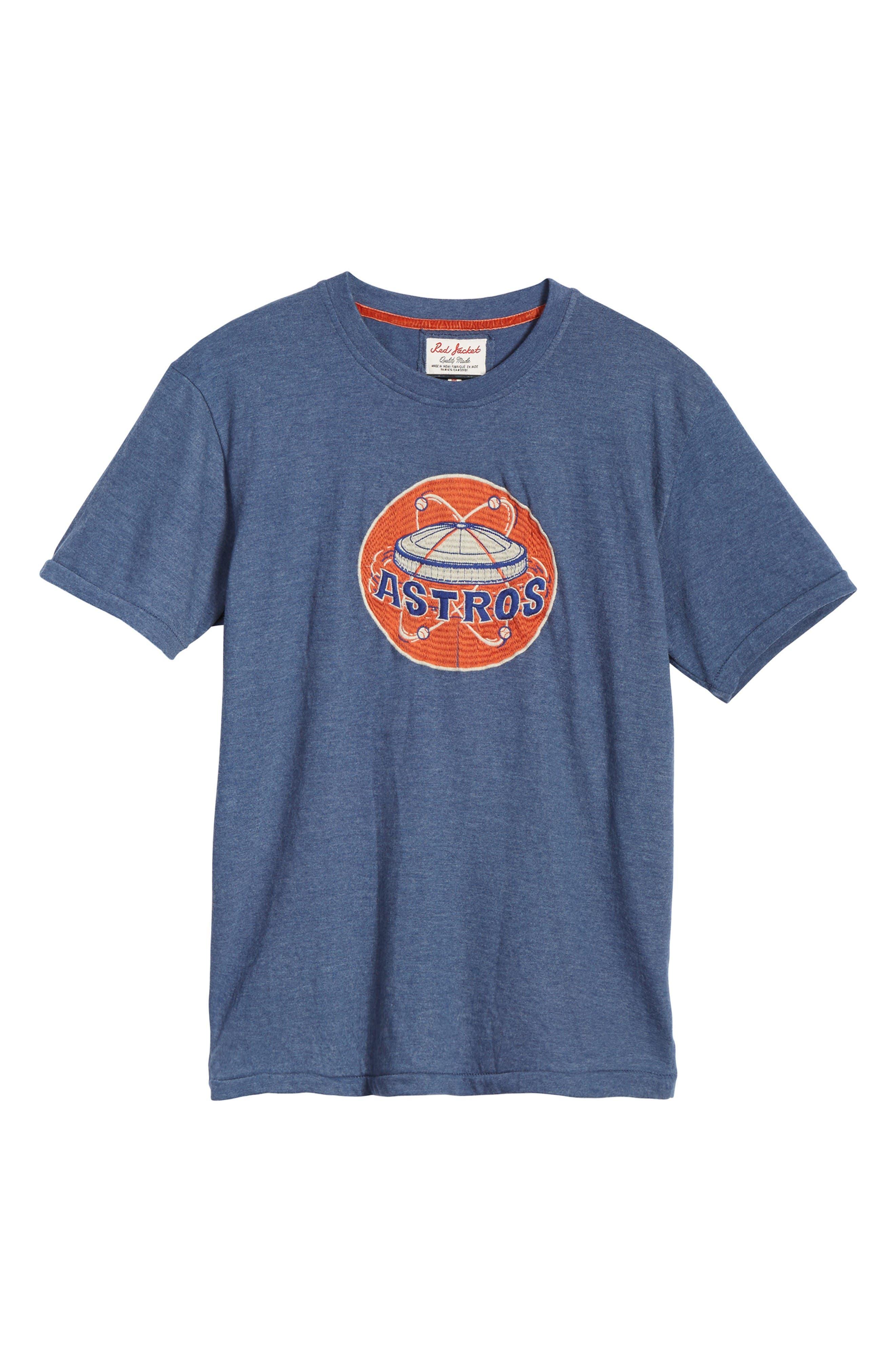 Hillwood Houston Astros T-Shirt,                             Alternate thumbnail 6, color,                             Heather Navy