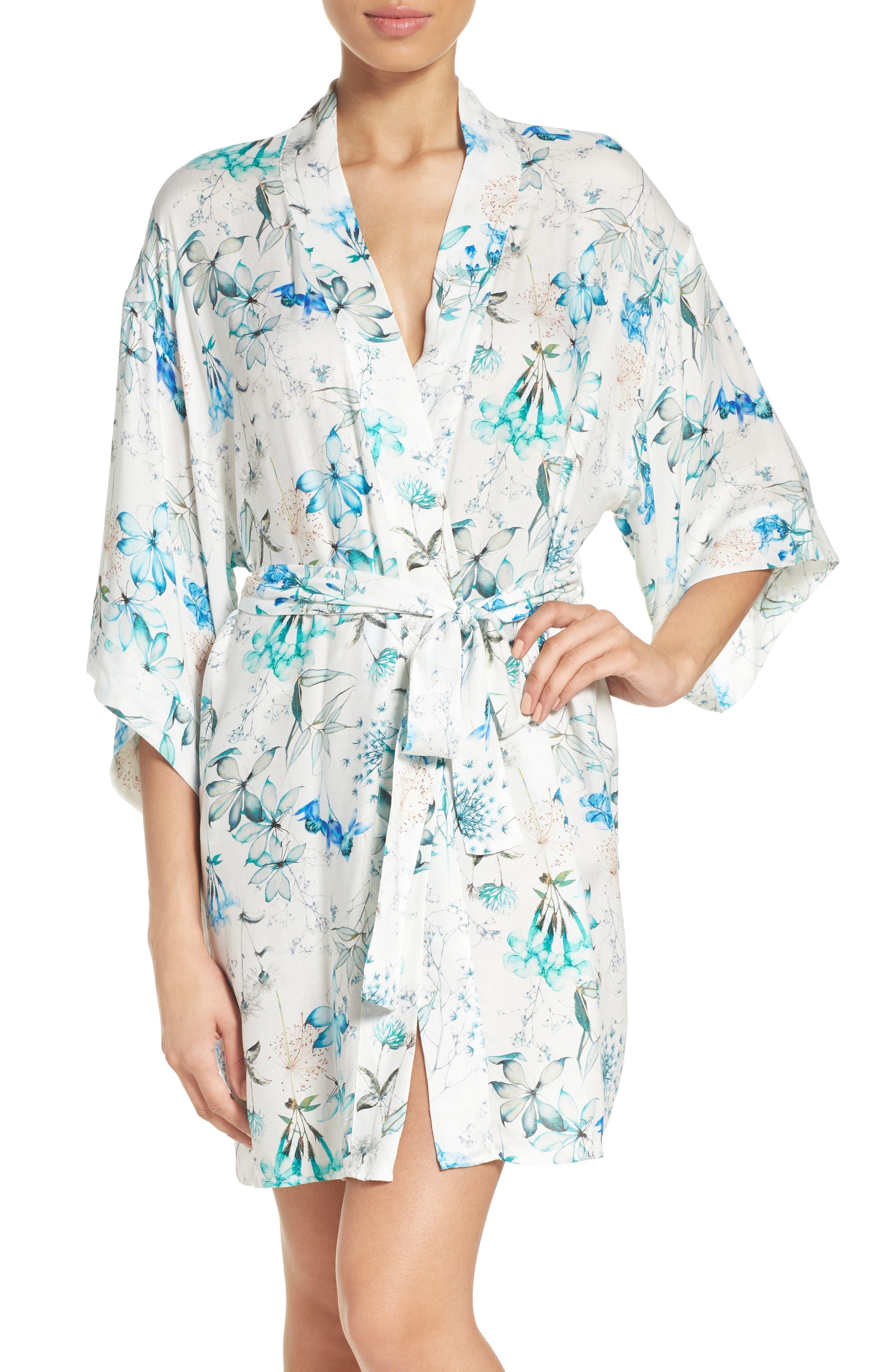 Delilah Kimono,                             Main thumbnail 1, color,                             Ivory