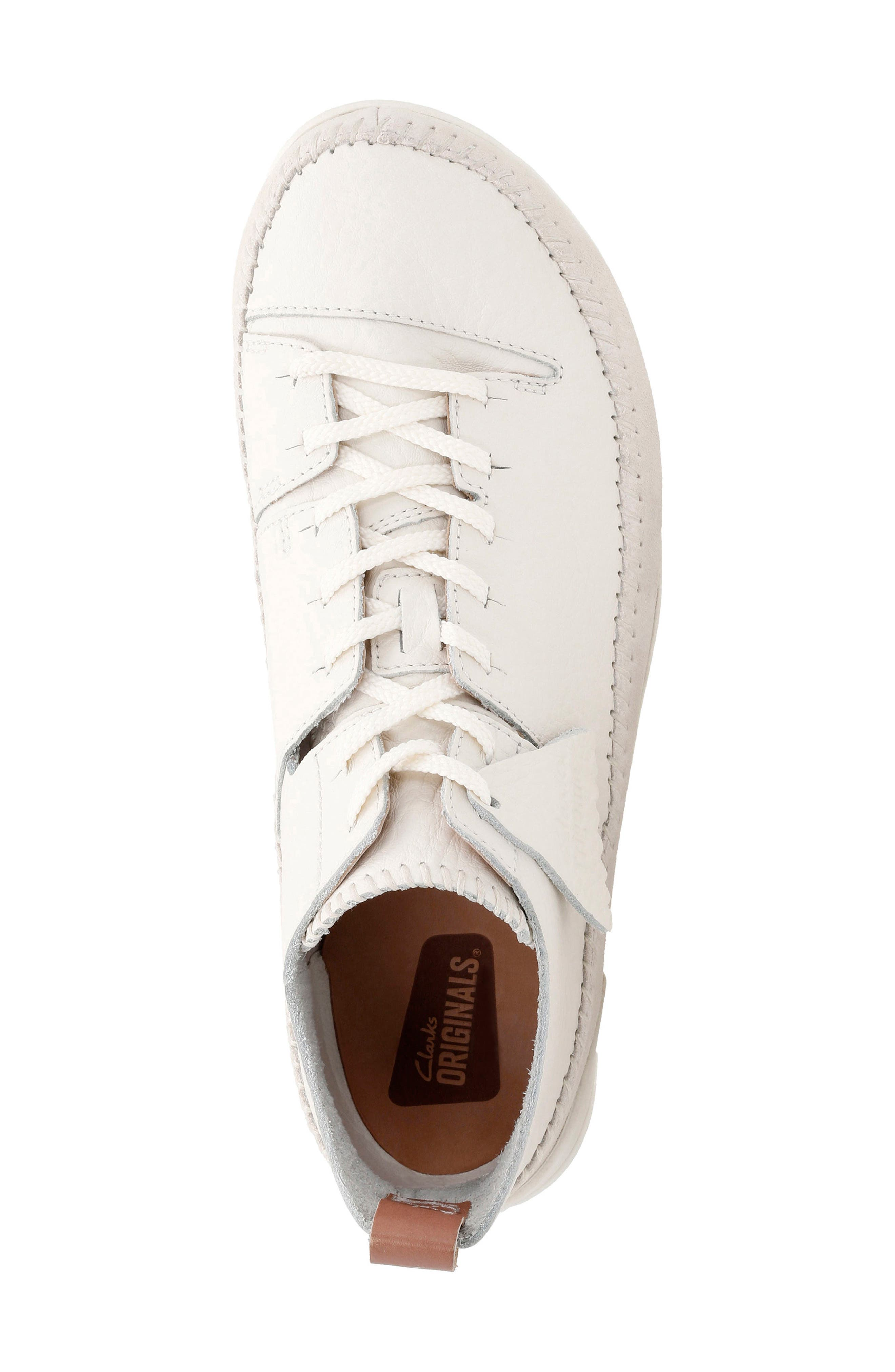 Alternate Image 4  - Clarks® 'Trigenic Flex' Leather Sneaker (Men)