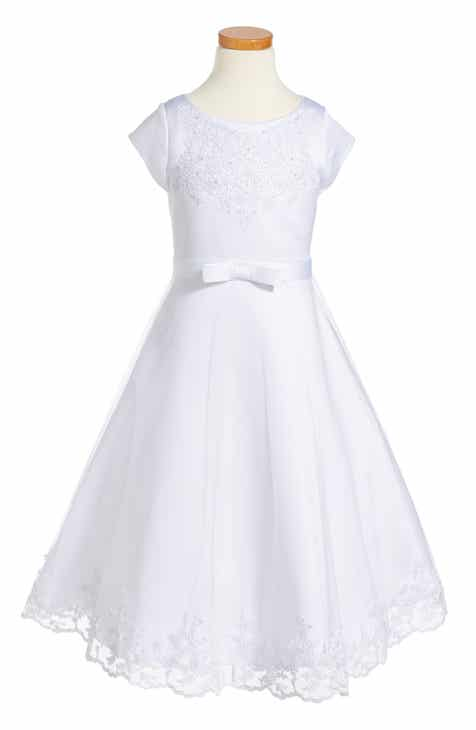 7edc3f0660e Us Angels Embroidered A-Line Dress (Little Girls   Big Girls)