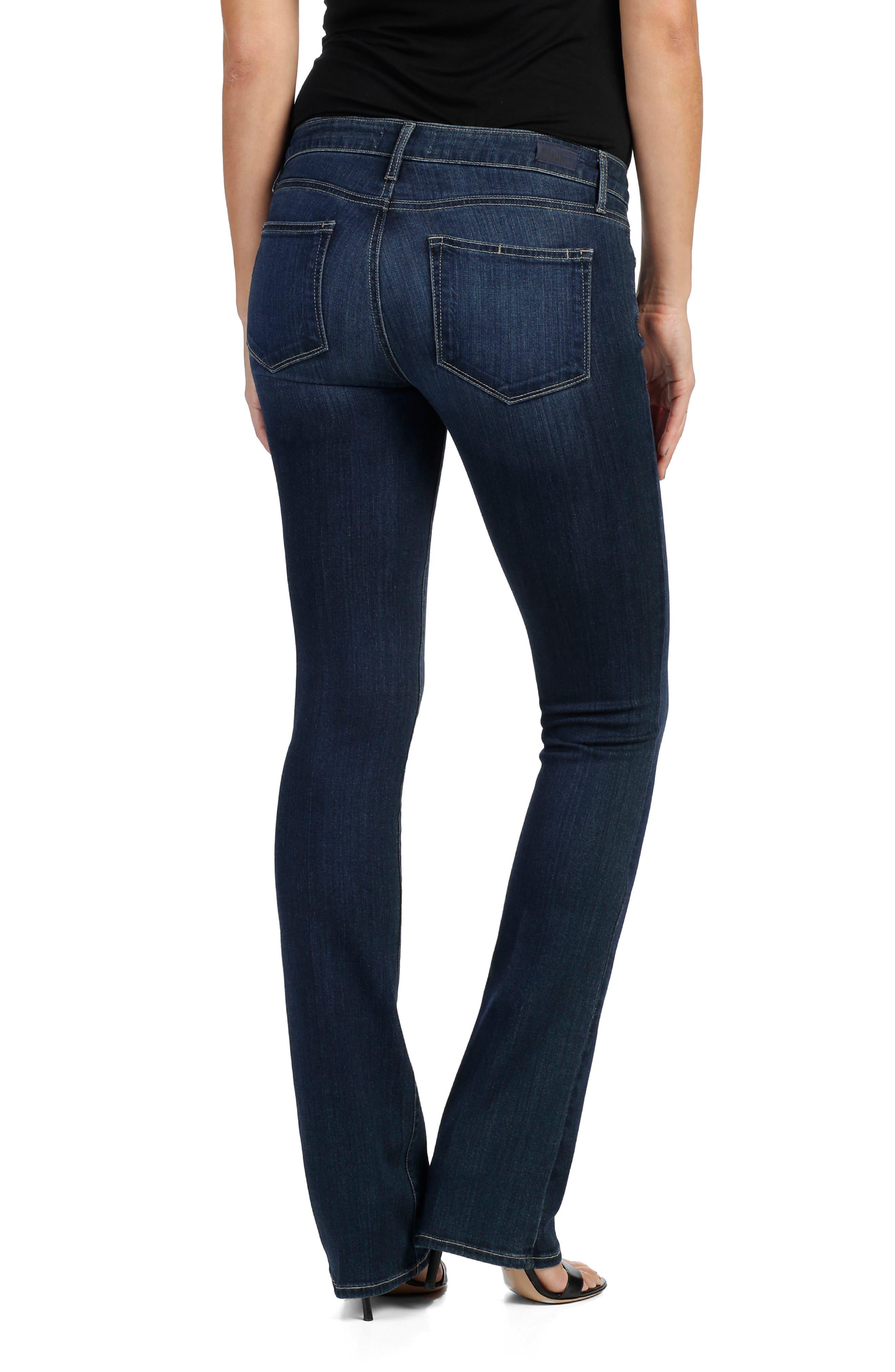 Alternate Image 3  - PAIGE Manhattan Bootcut Jeans (Drift)