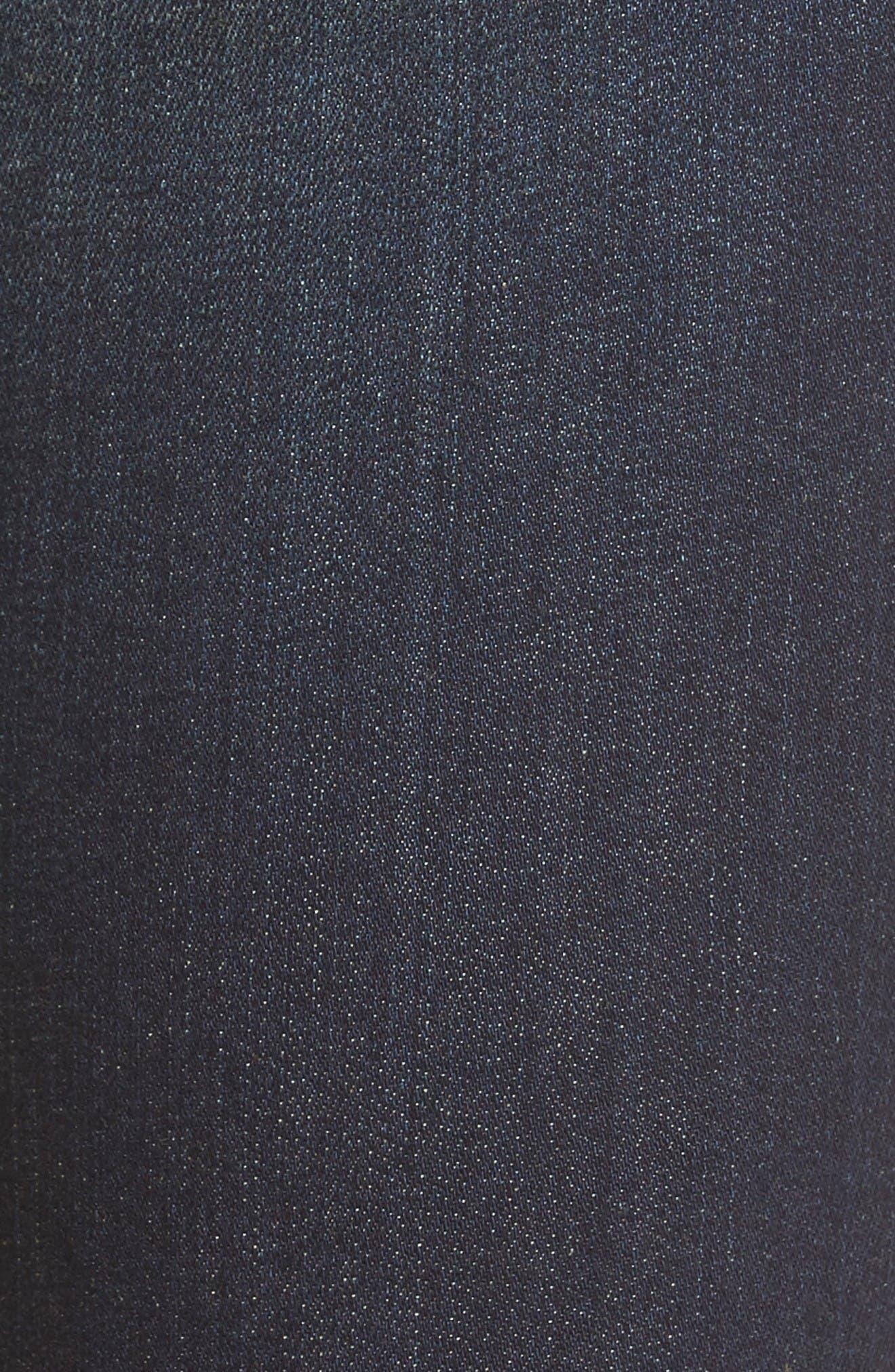 Alternate Image 5  - KUT from the Kloth Kurvy Ankle Skinny Jeans (Blinding)
