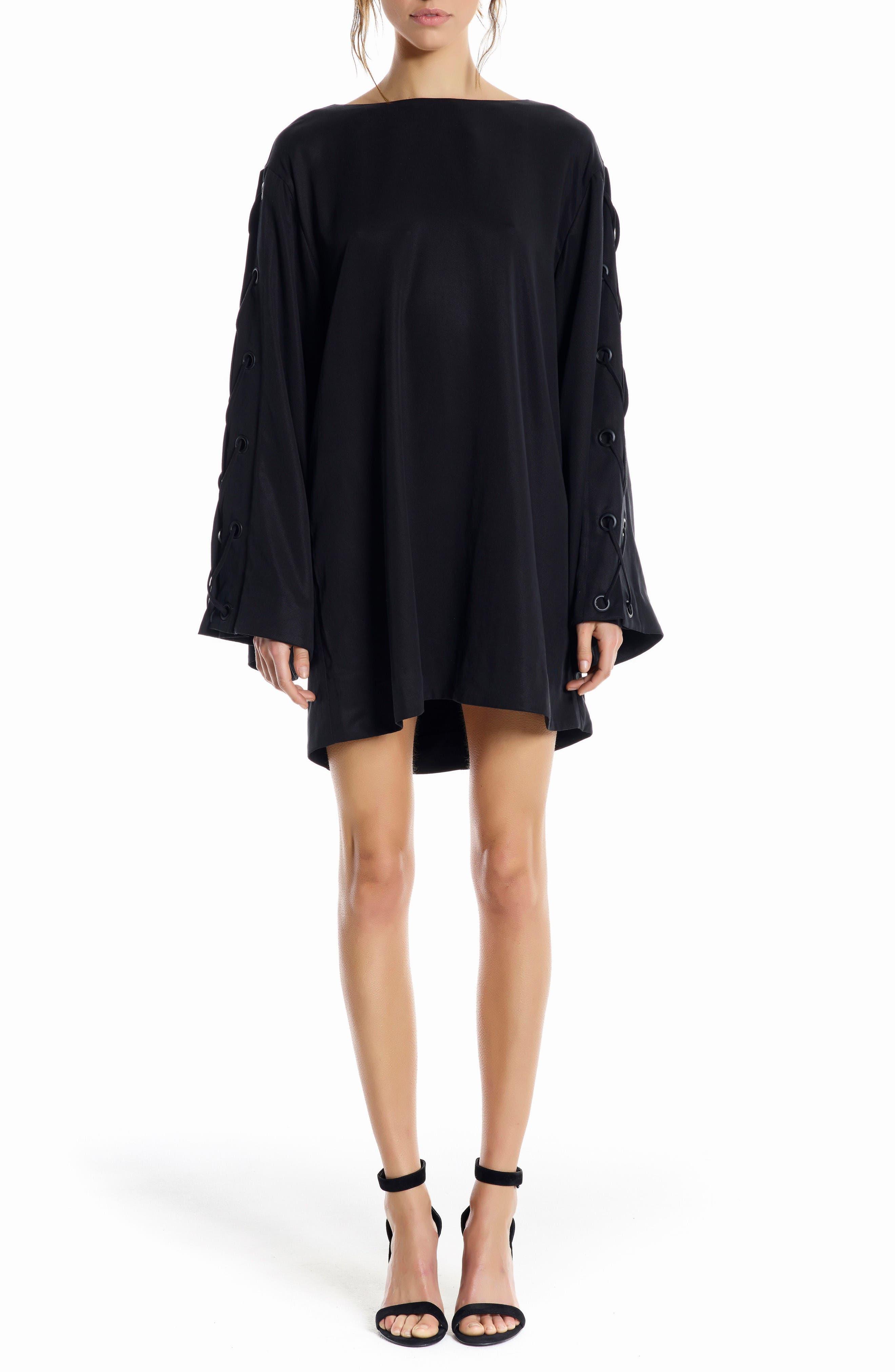 Main Image - KENDALL + KYLIE Bell Sleeve Minidress