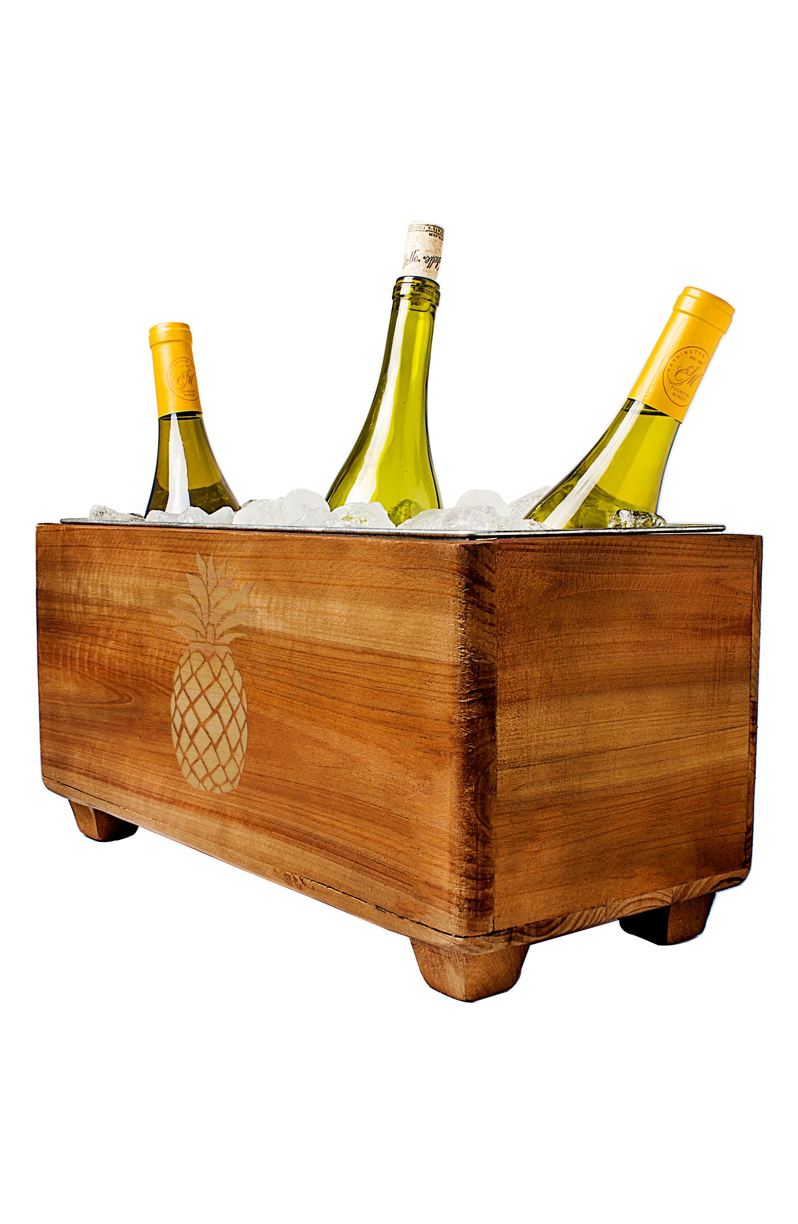 Alternate Image 2  - Cathy's Concepts Wooden Wine Trough