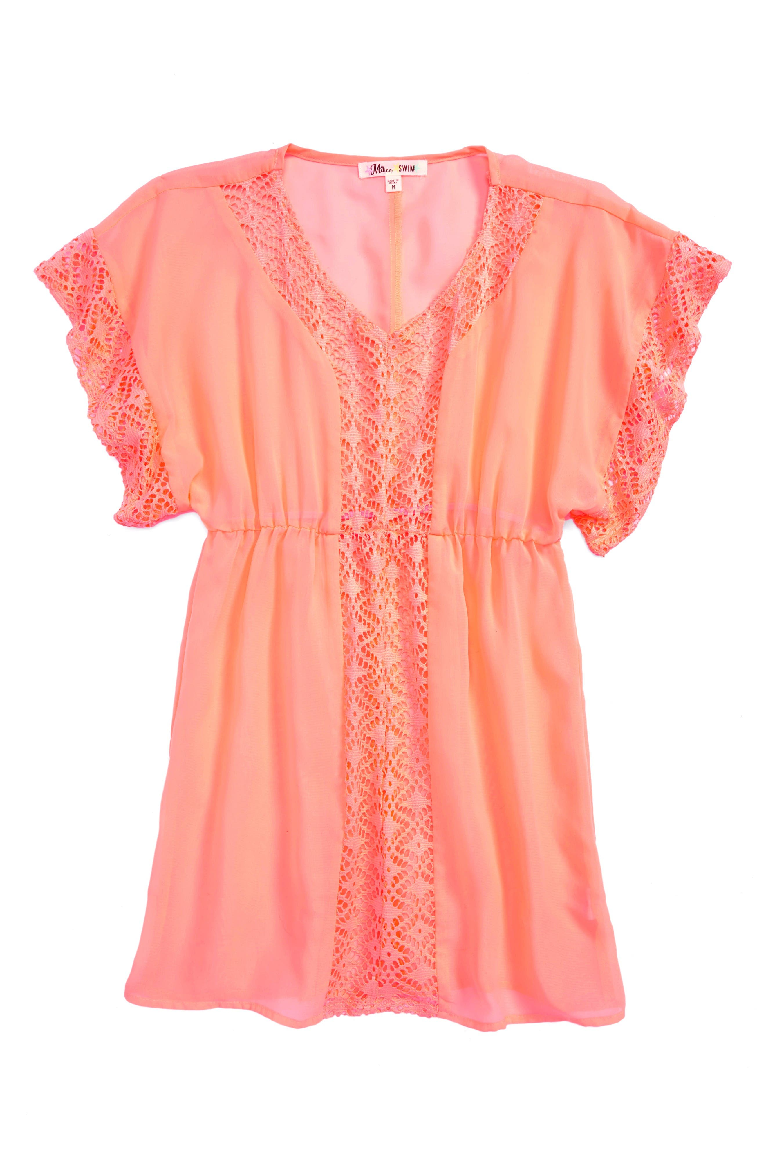 Miken Clothing Dolman Sleeve Cover-Up (Big Girls)
