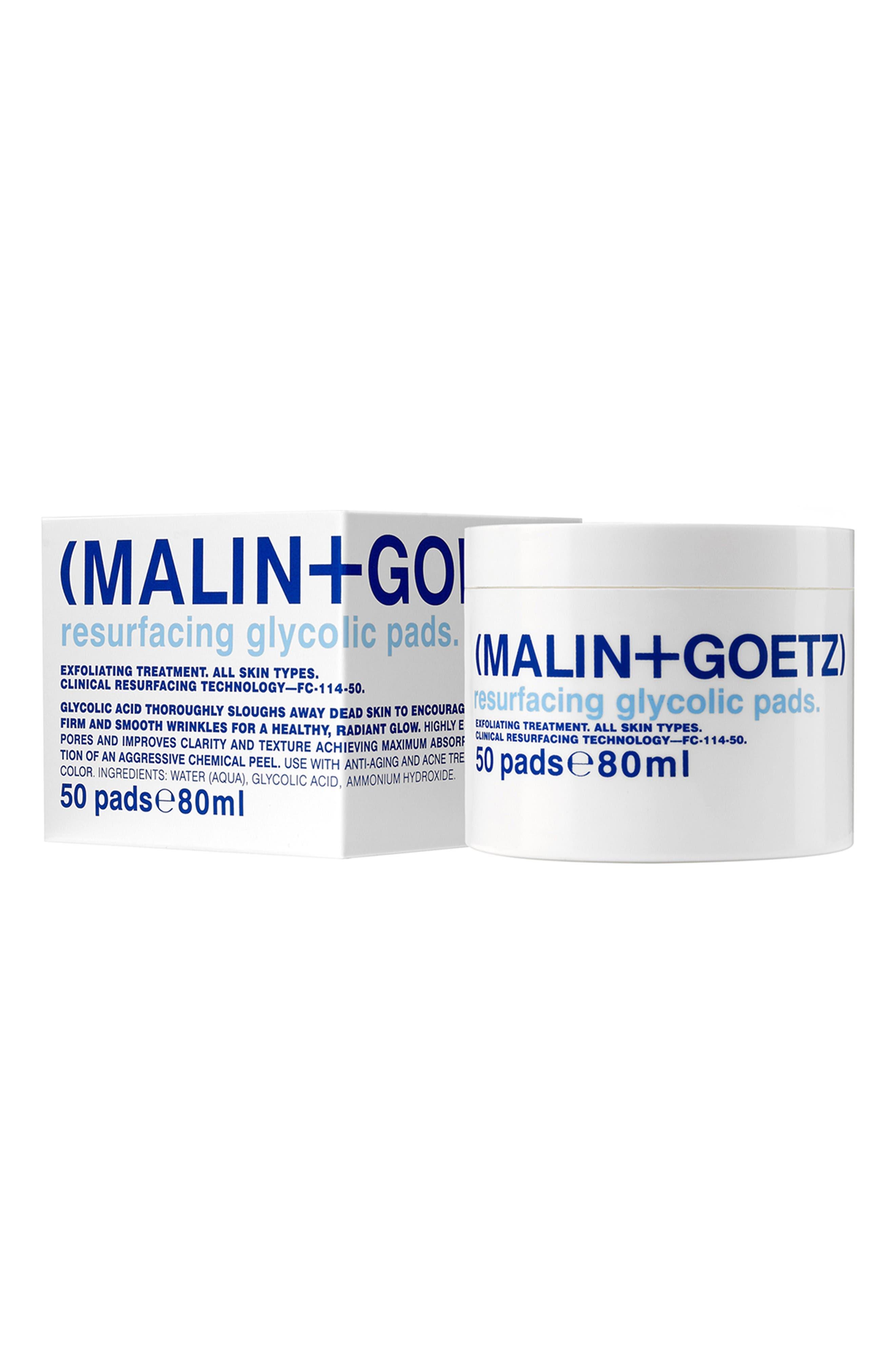 SPACE.NK.apothecary Malin + Goetz Resurfacing Glycolic Acid Pads