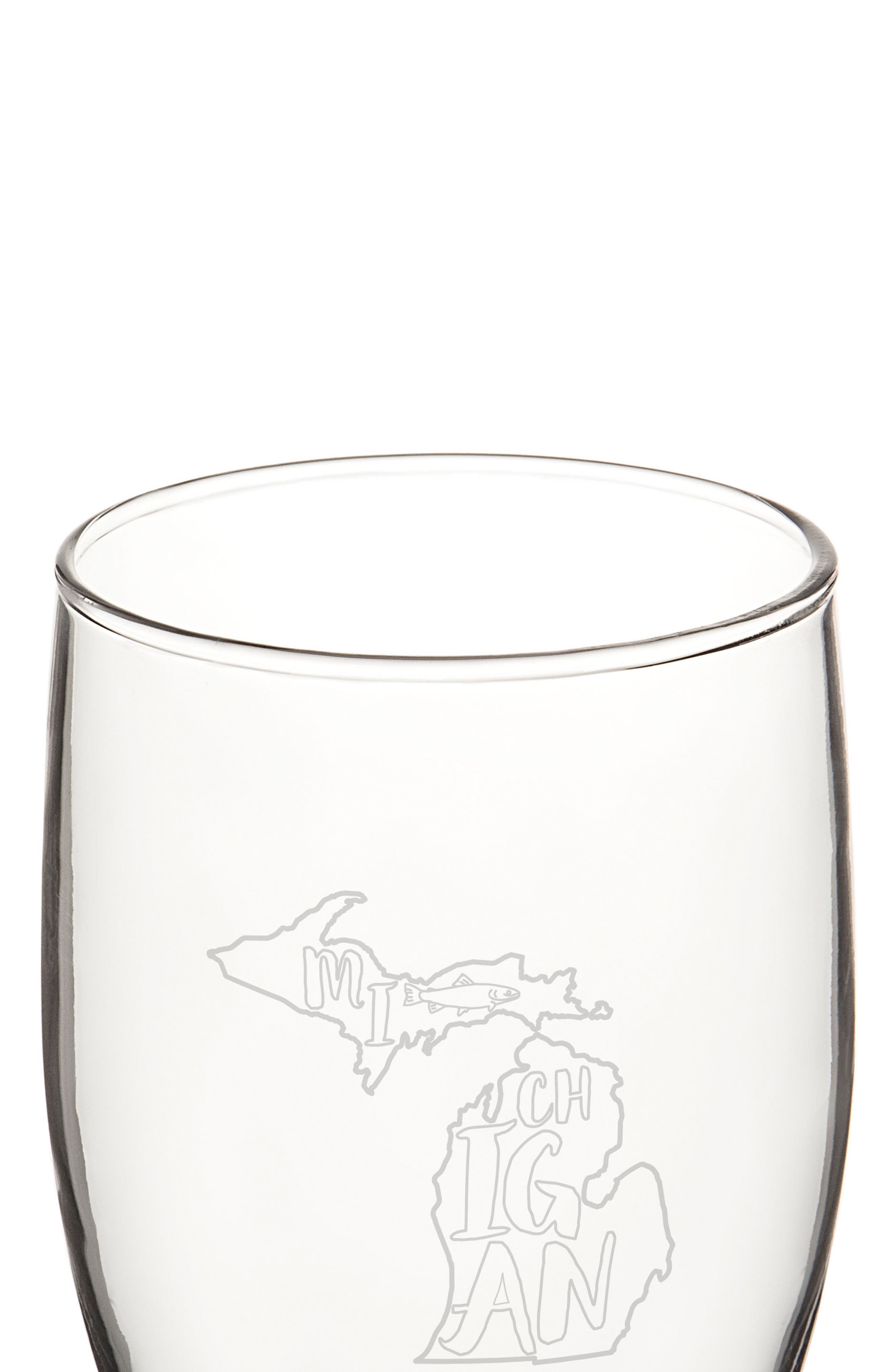 Alternate Image 2  - Cathy's Concepts State Set of 4 Pilsner Glasses