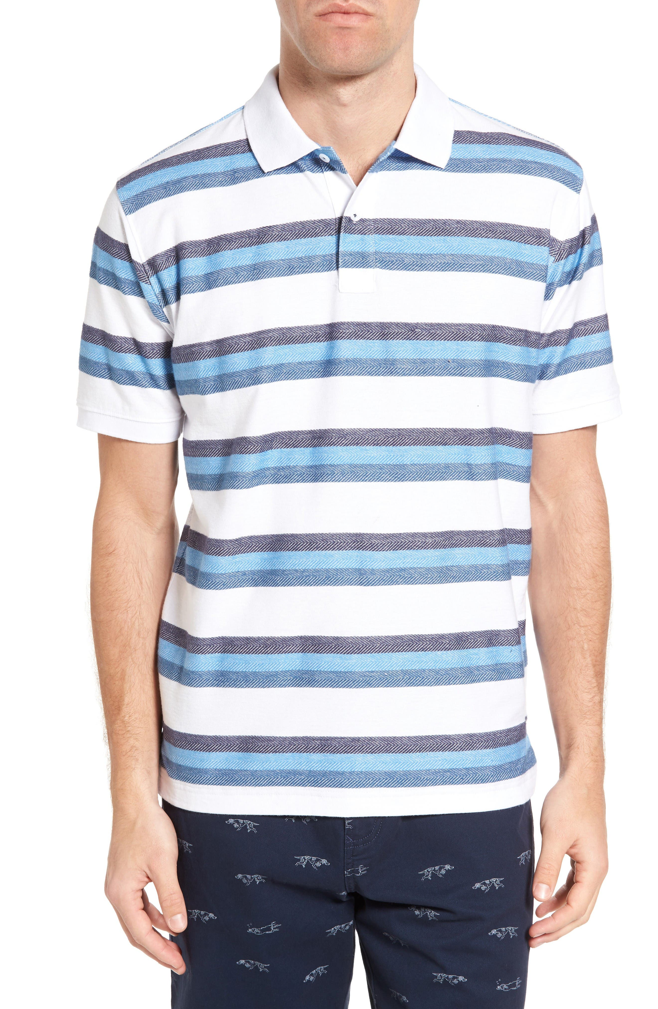RODD & GUNN Marton Sport Fit Stripe Polo