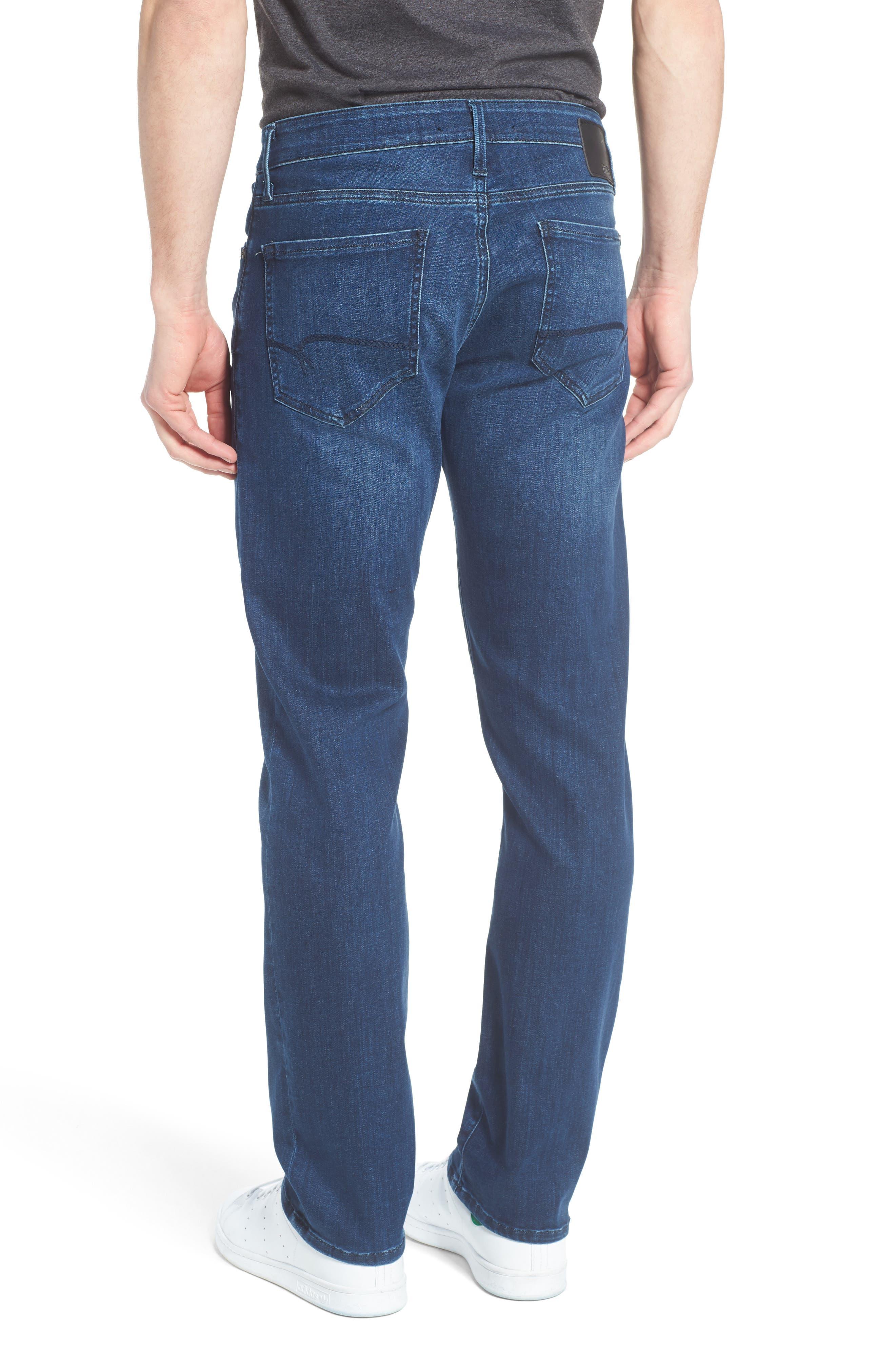 Zach Straight Leg Jeans,                             Alternate thumbnail 2, color,                             Mid Comfort