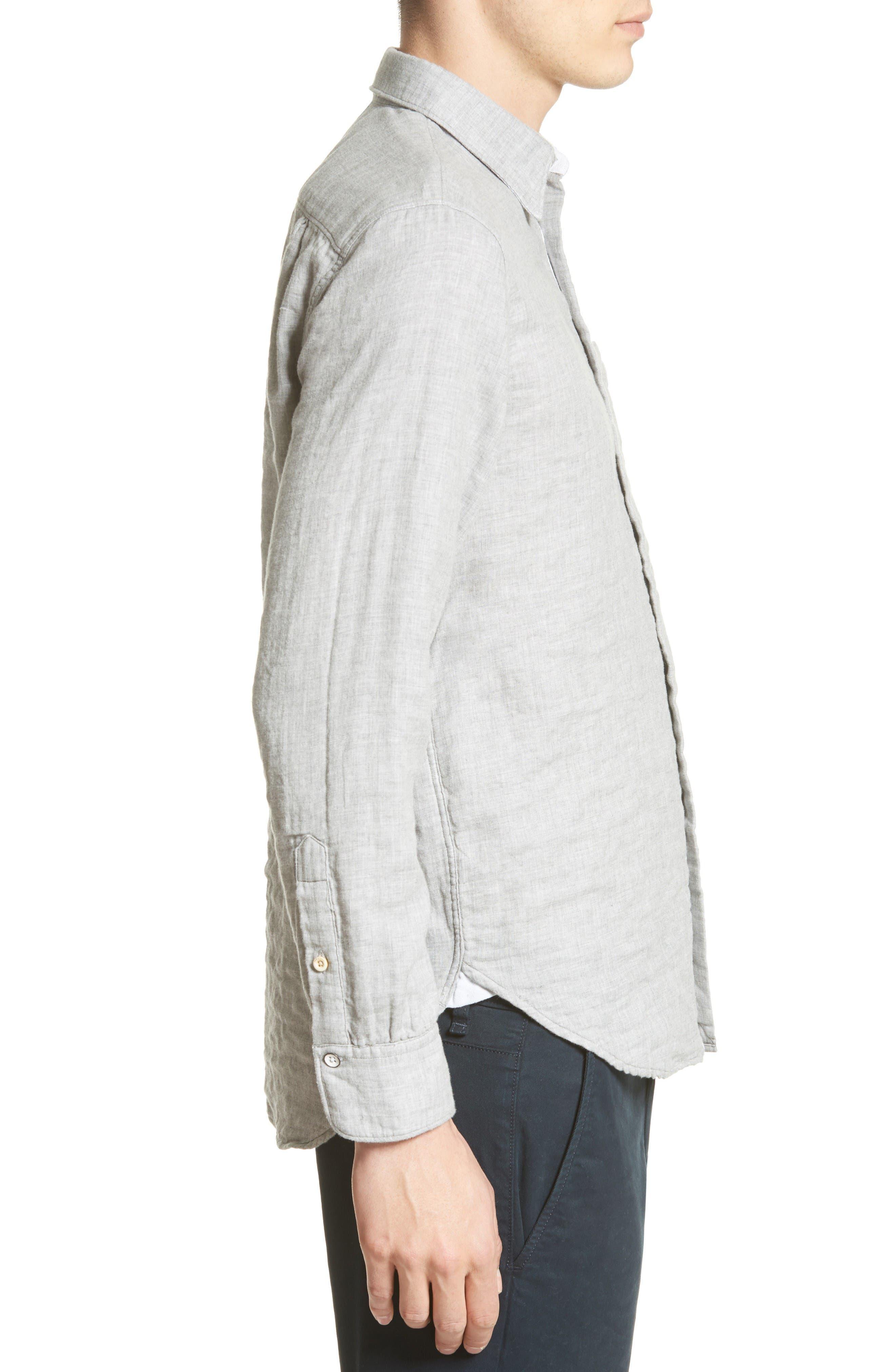 Alternate Image 3  - rag & bone Beach Trim Fit Sport Shirt