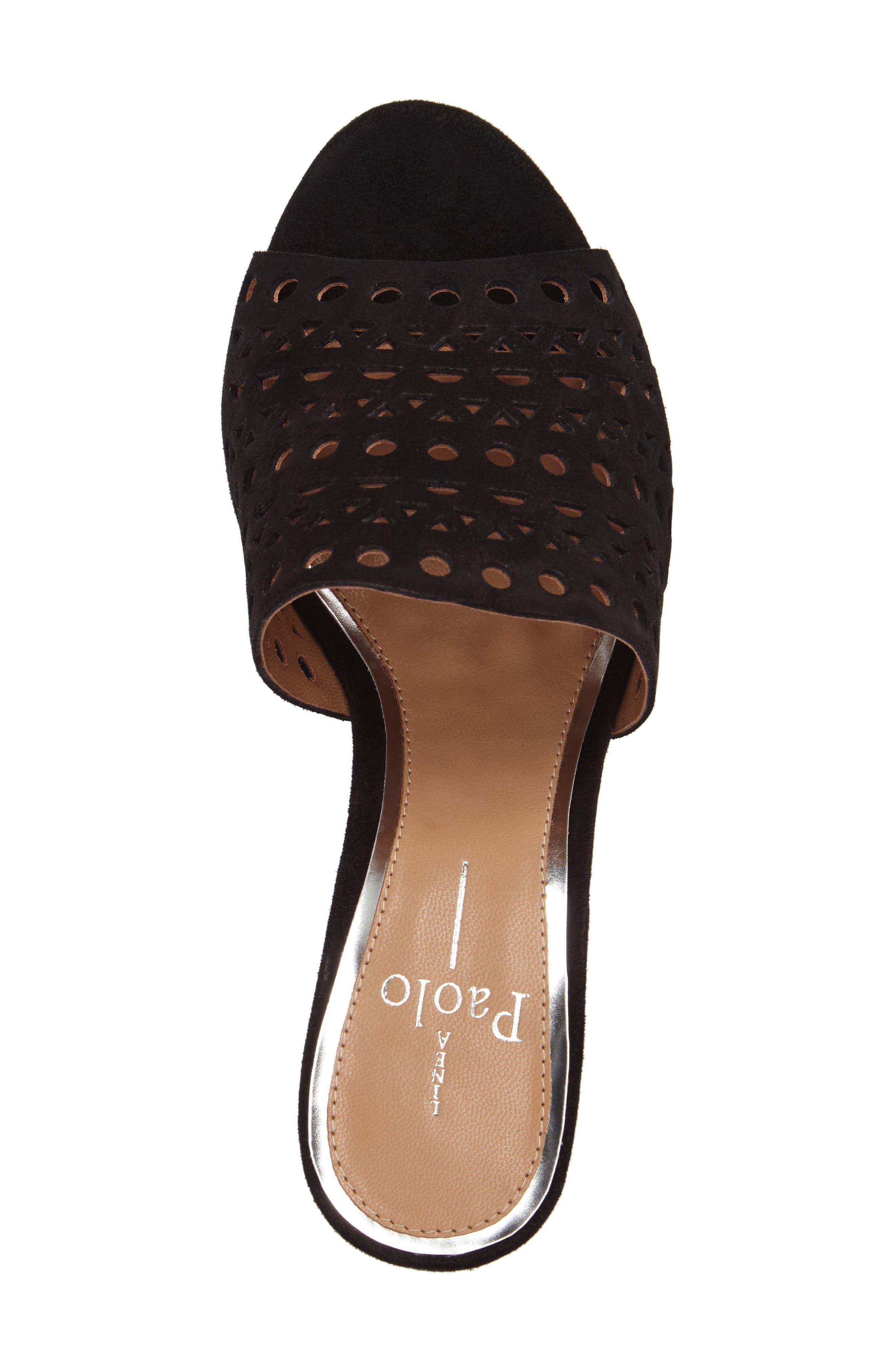 Alternate Image 5  - Linea Paolo Ofra Block Heel Mule (Women)