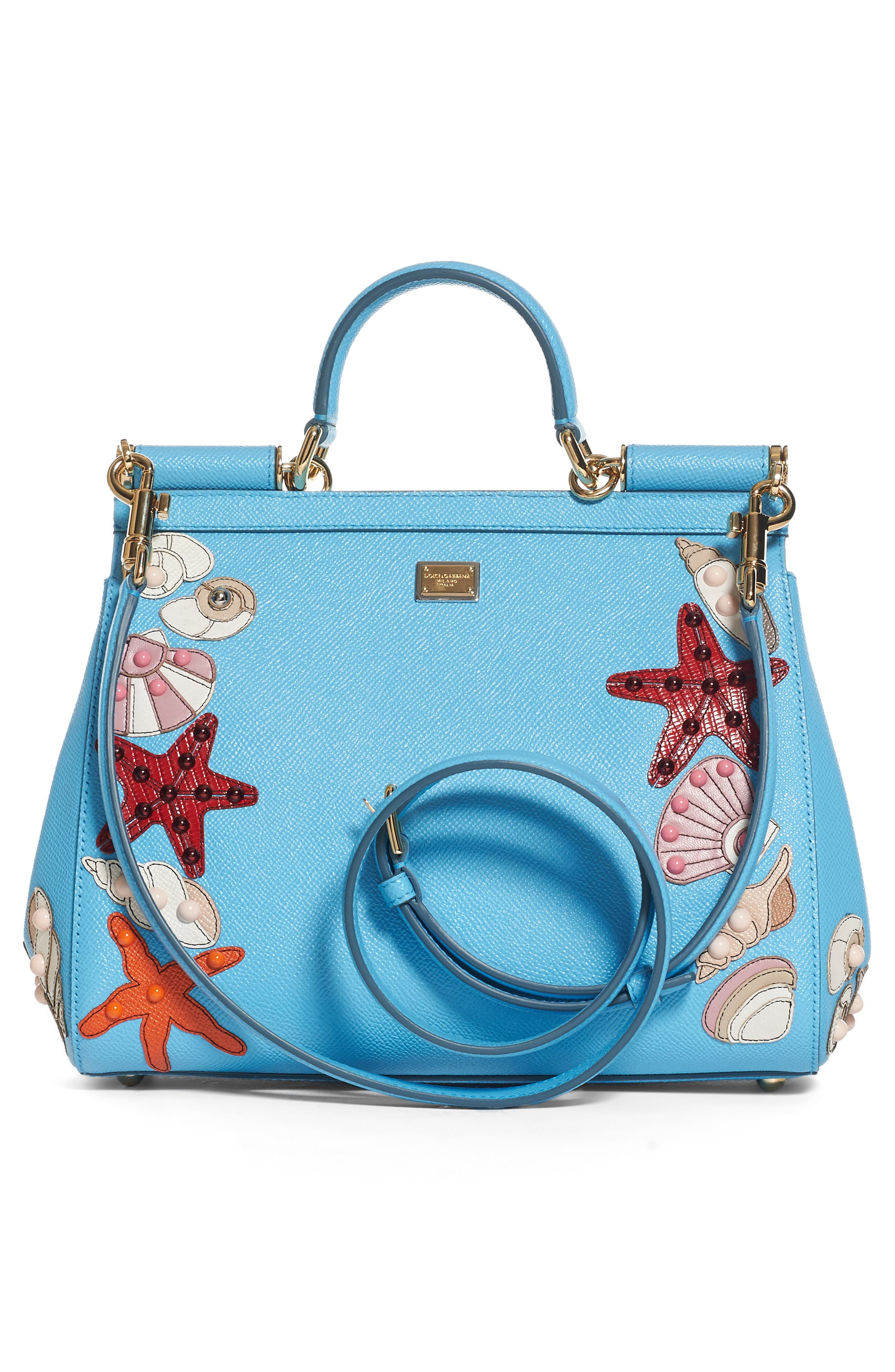 Alternate Image 2  - Dolce&Gabbana Medium Miss Sicily Leather Satchel