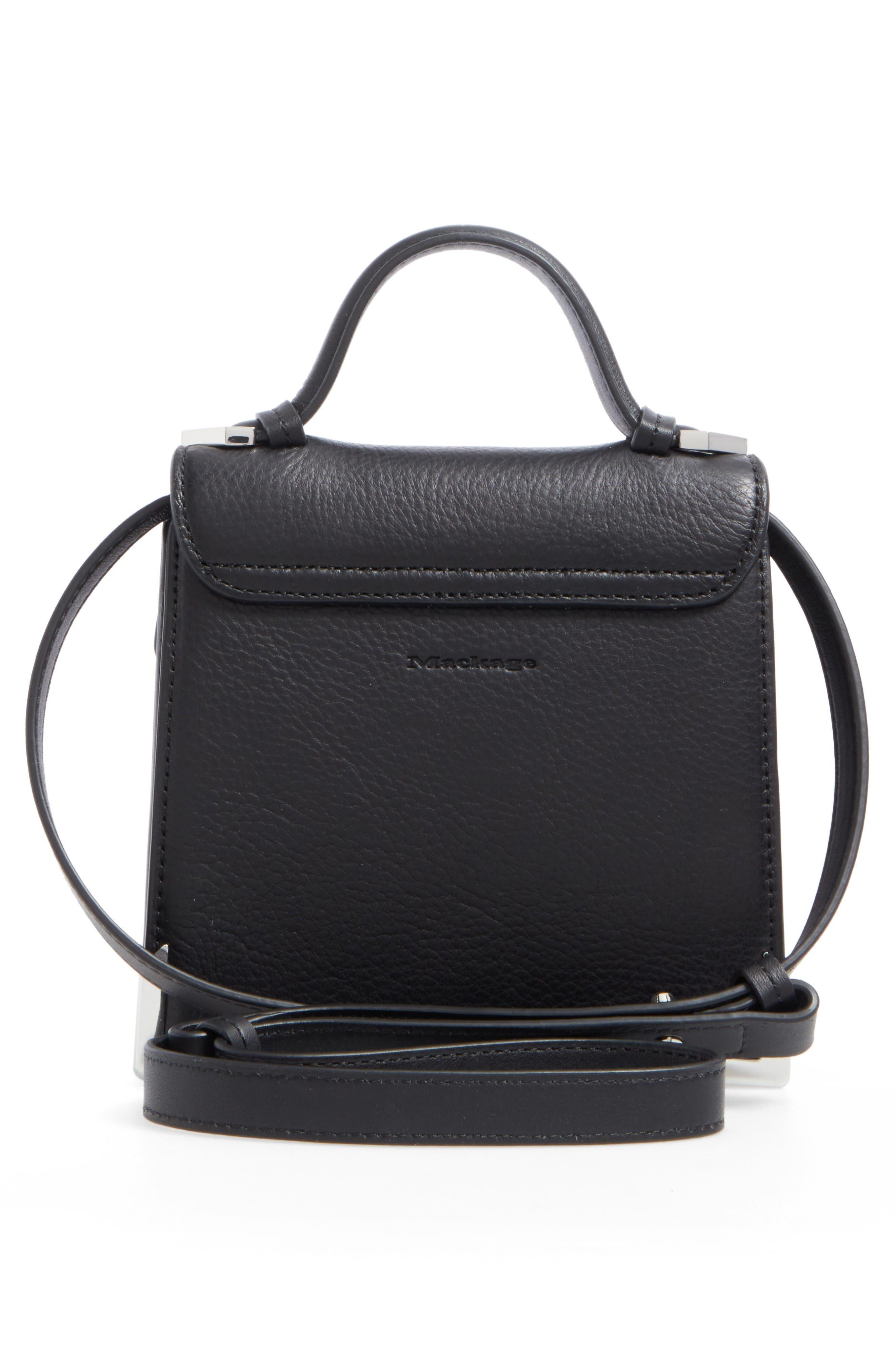Alternate Image 3  - Mackage Mini Rubie Leather Shoulder Bag