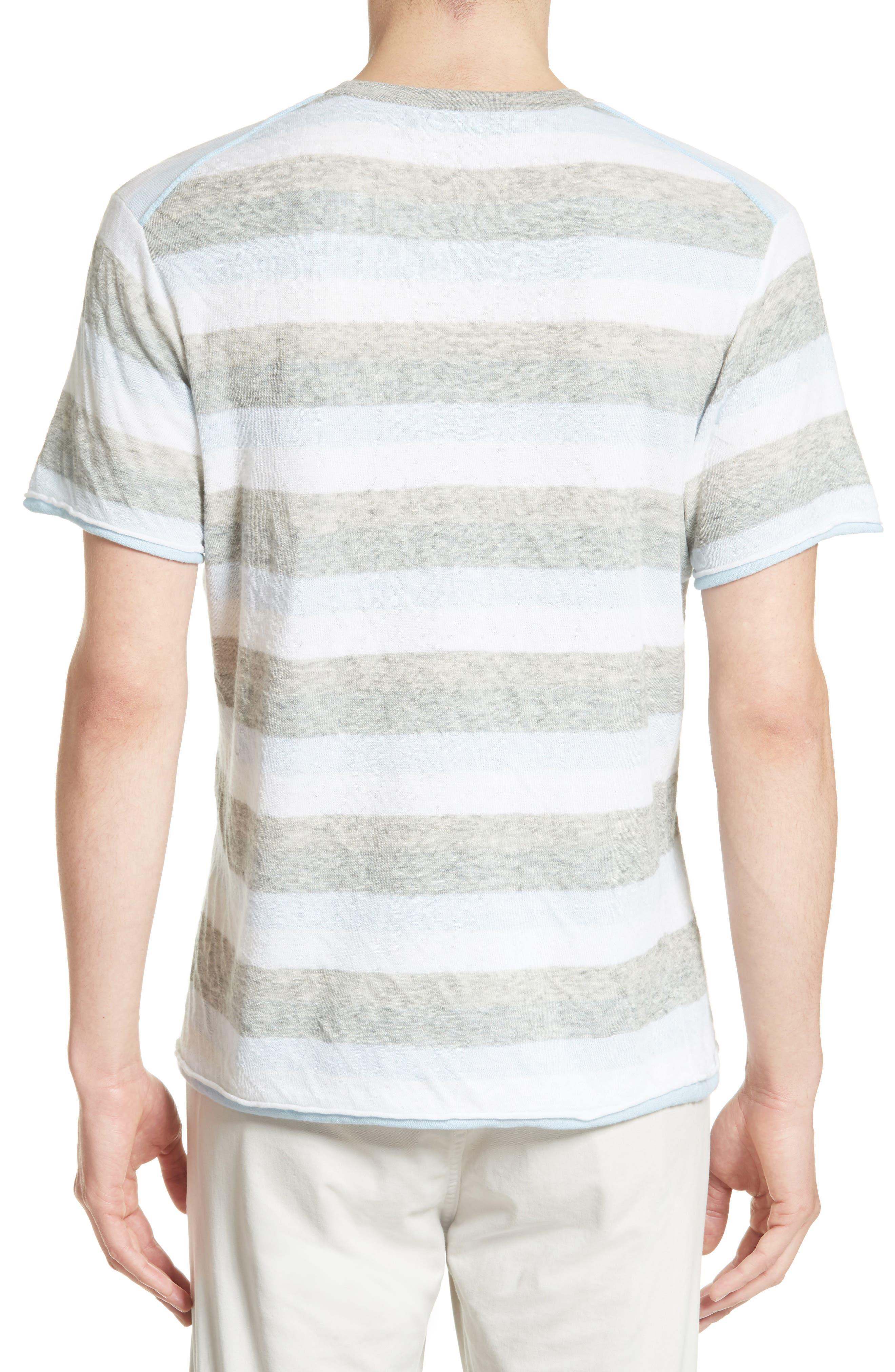 Alternate Image 2  - rag & bone Tripp Cotton & Wool T-Shirt