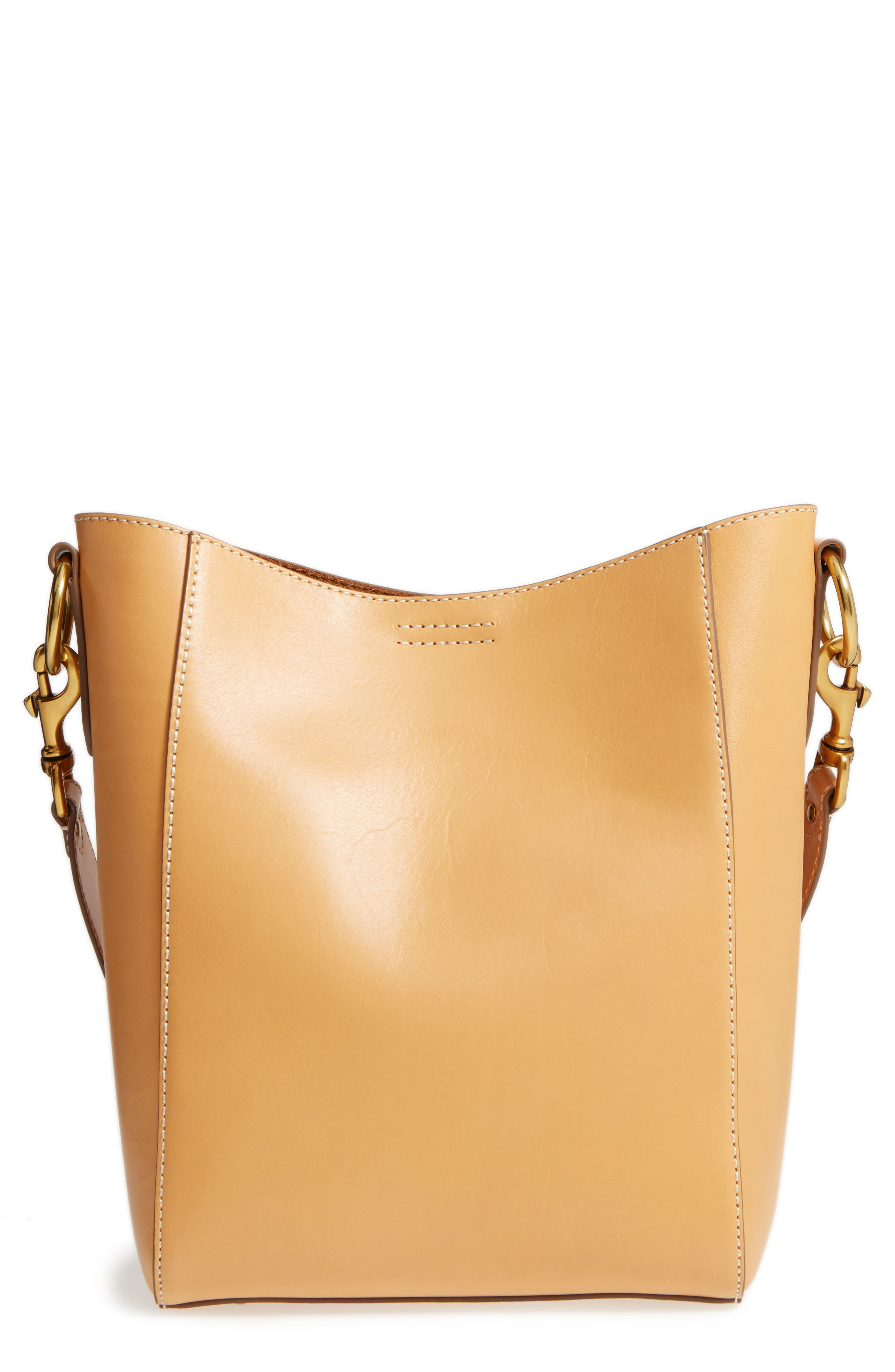 Frye Harness Leather Bucket Bag