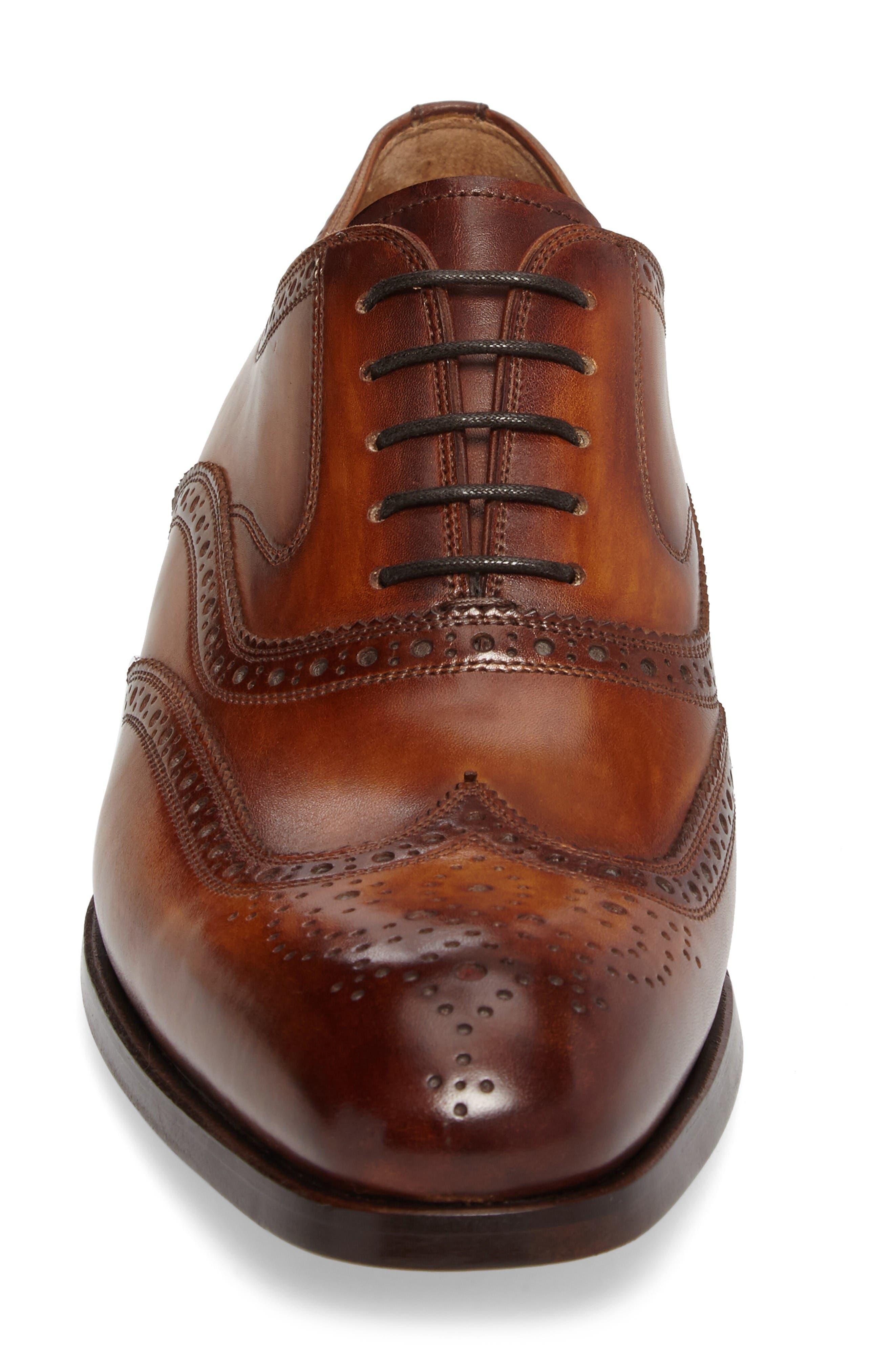 Victorio Wingtip,                             Alternate thumbnail 4, color,                             Cuero Leather