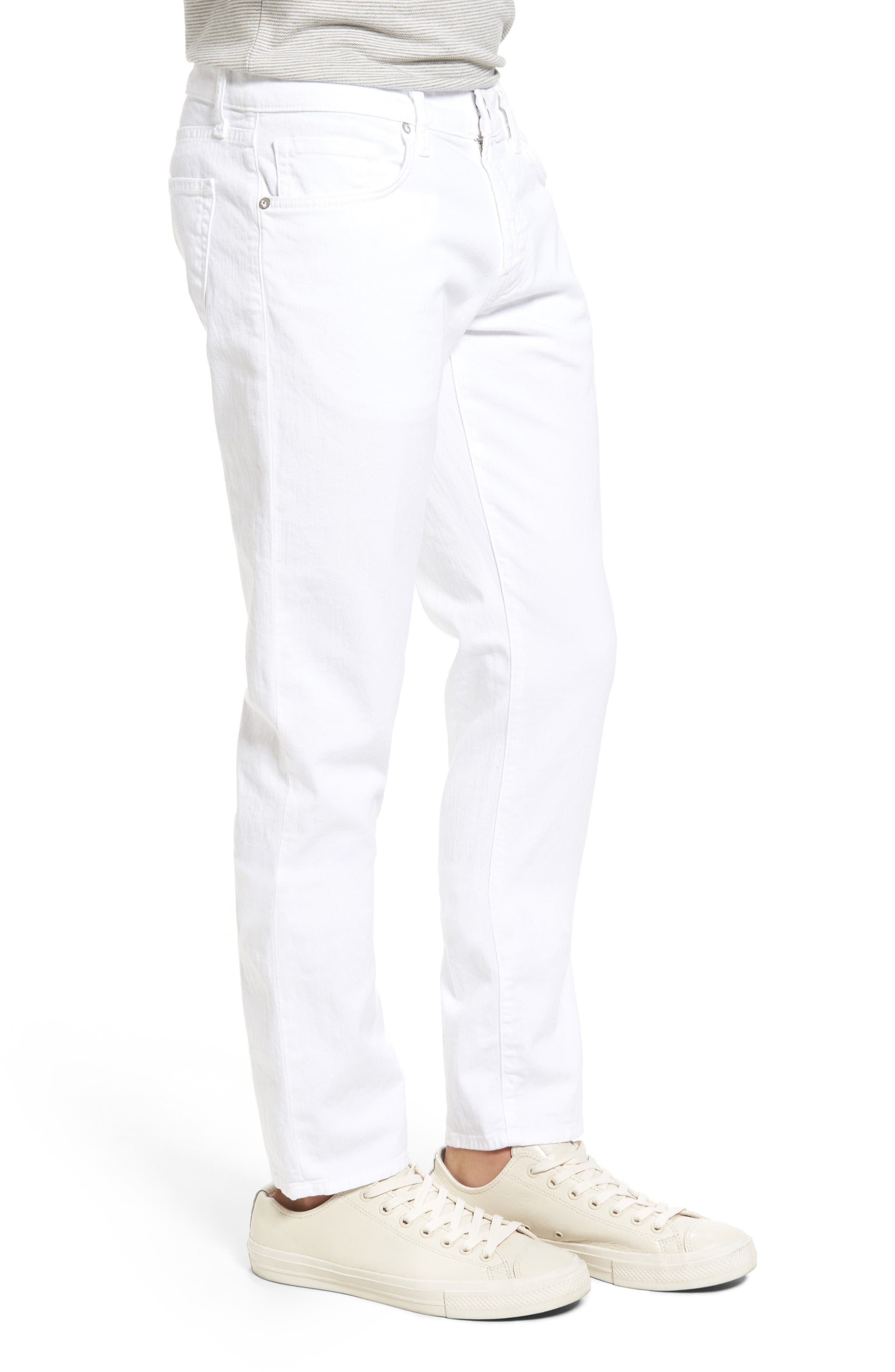 Alternate Image 4  - J Brand Tyler Slim Fit Jeans (Whitman)