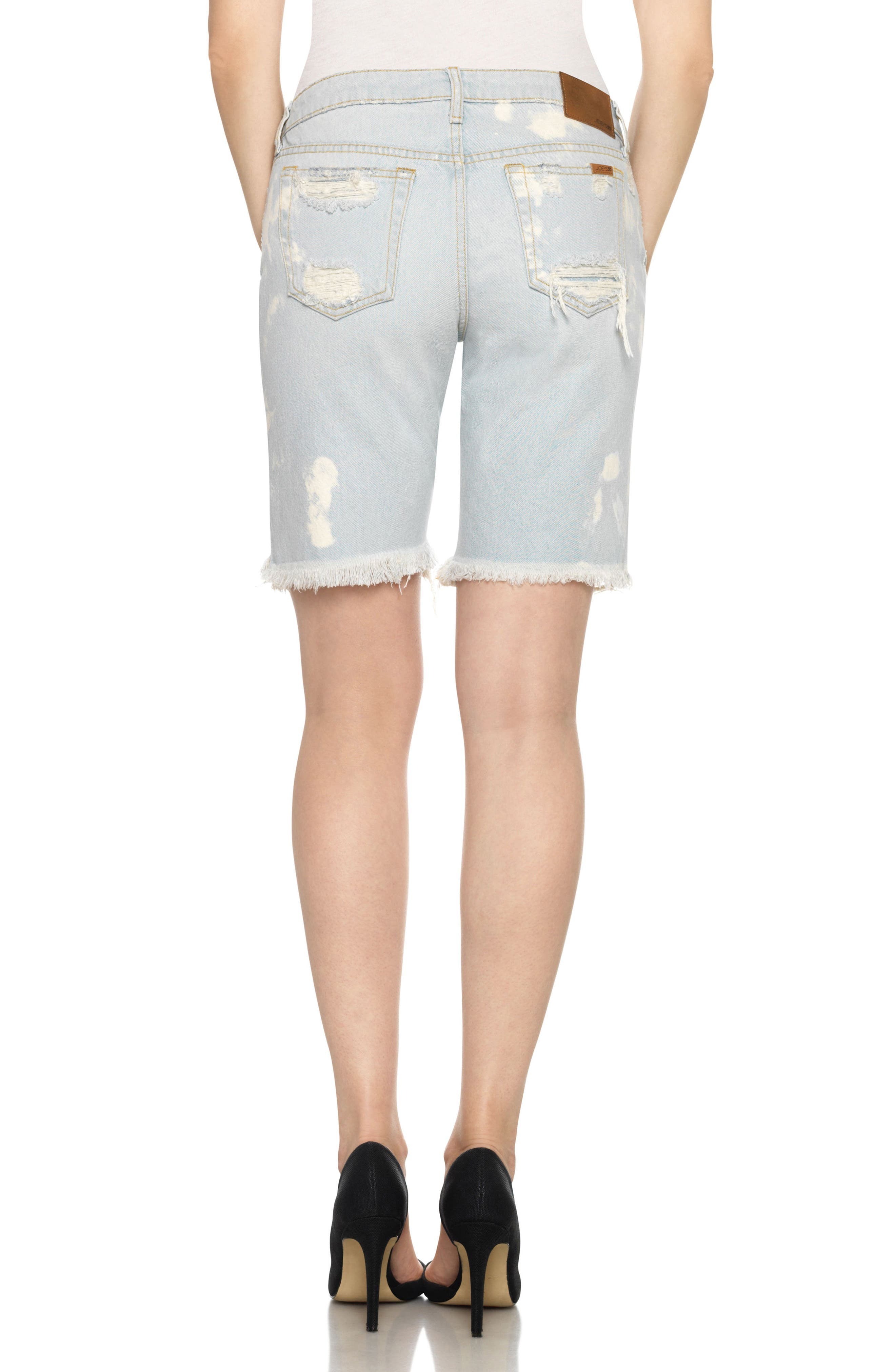 Alternate Image 2  - Joe's Collector's - Finn Cutoff Bermuda Shorts (Elkie)