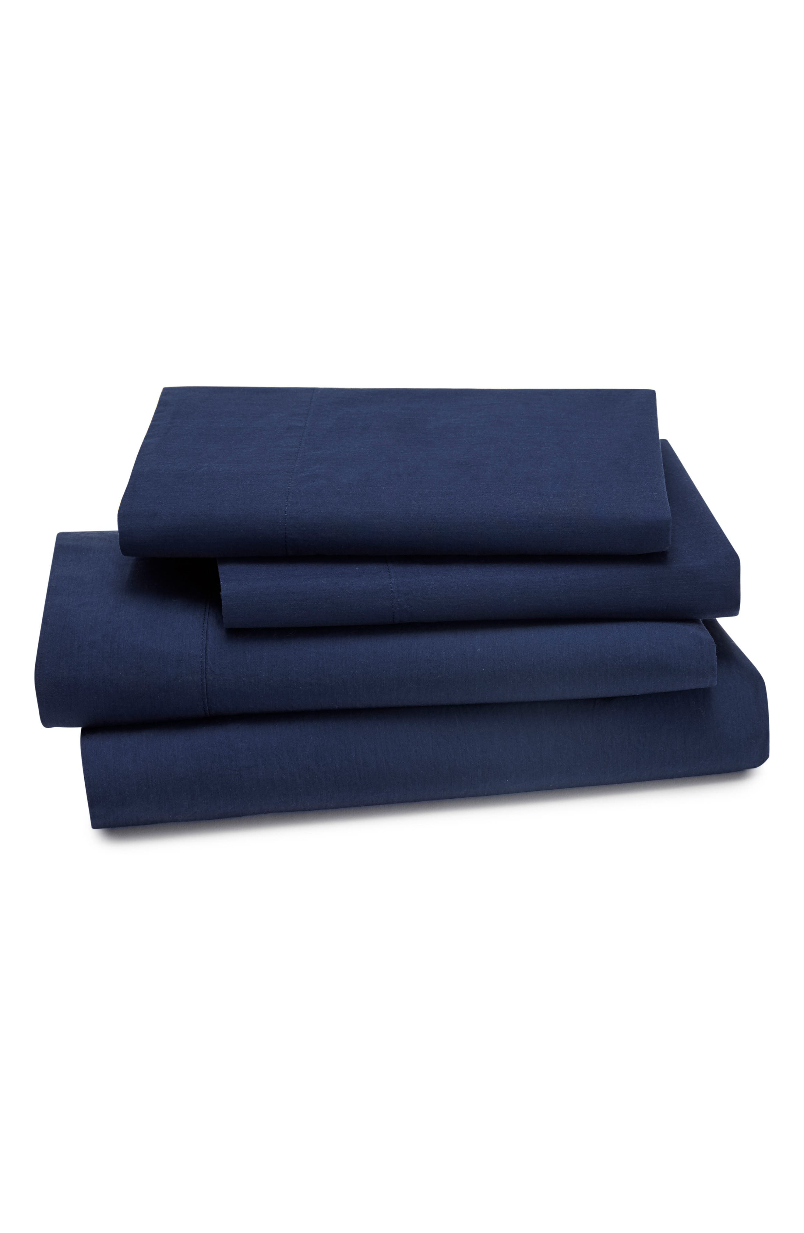KASSATEX Lorimer 300 Thread Count Tencel® Percale Sheet Set