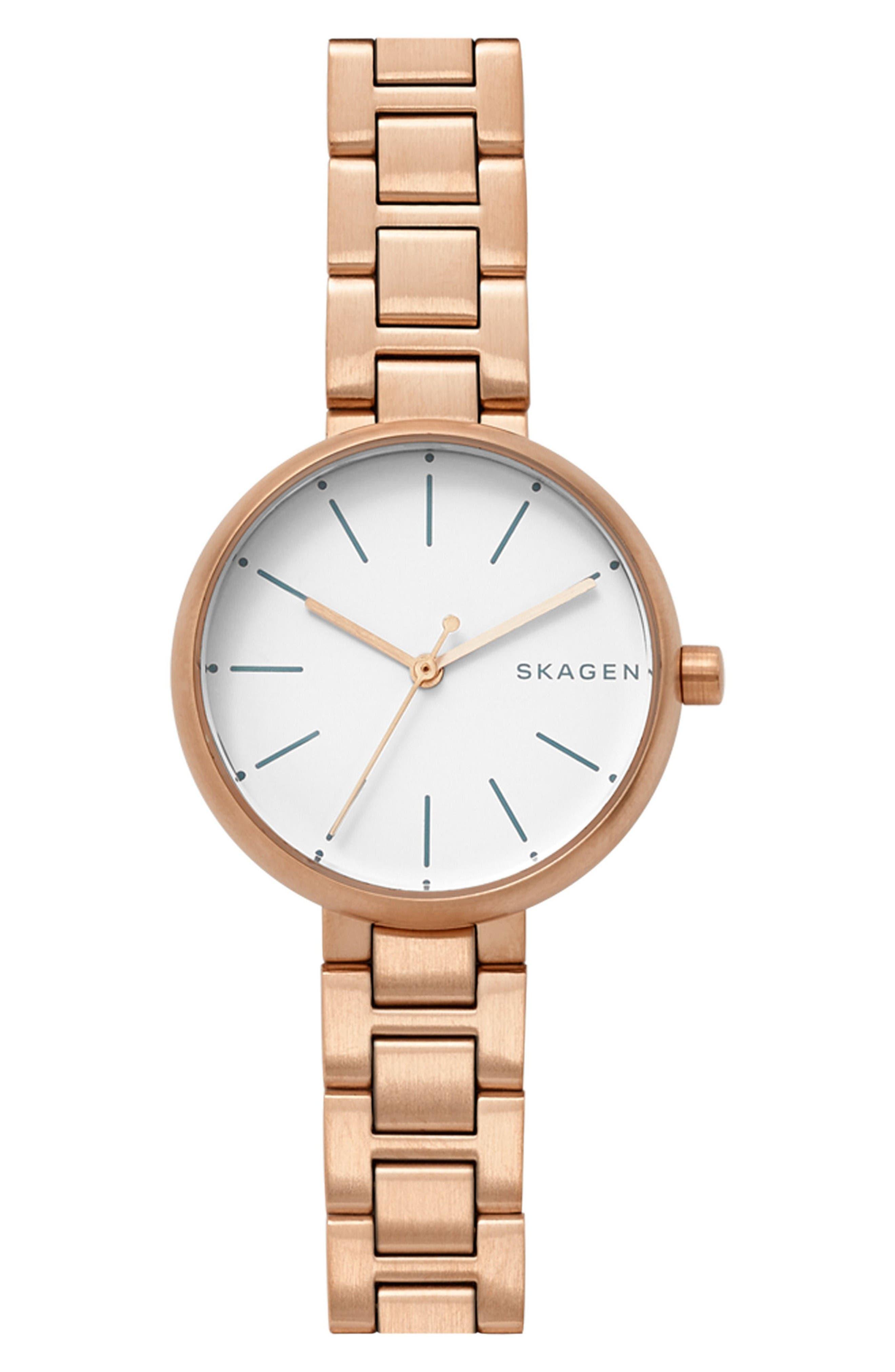 Main Image - Skagen Signatur Bracelet Watch, 30mm