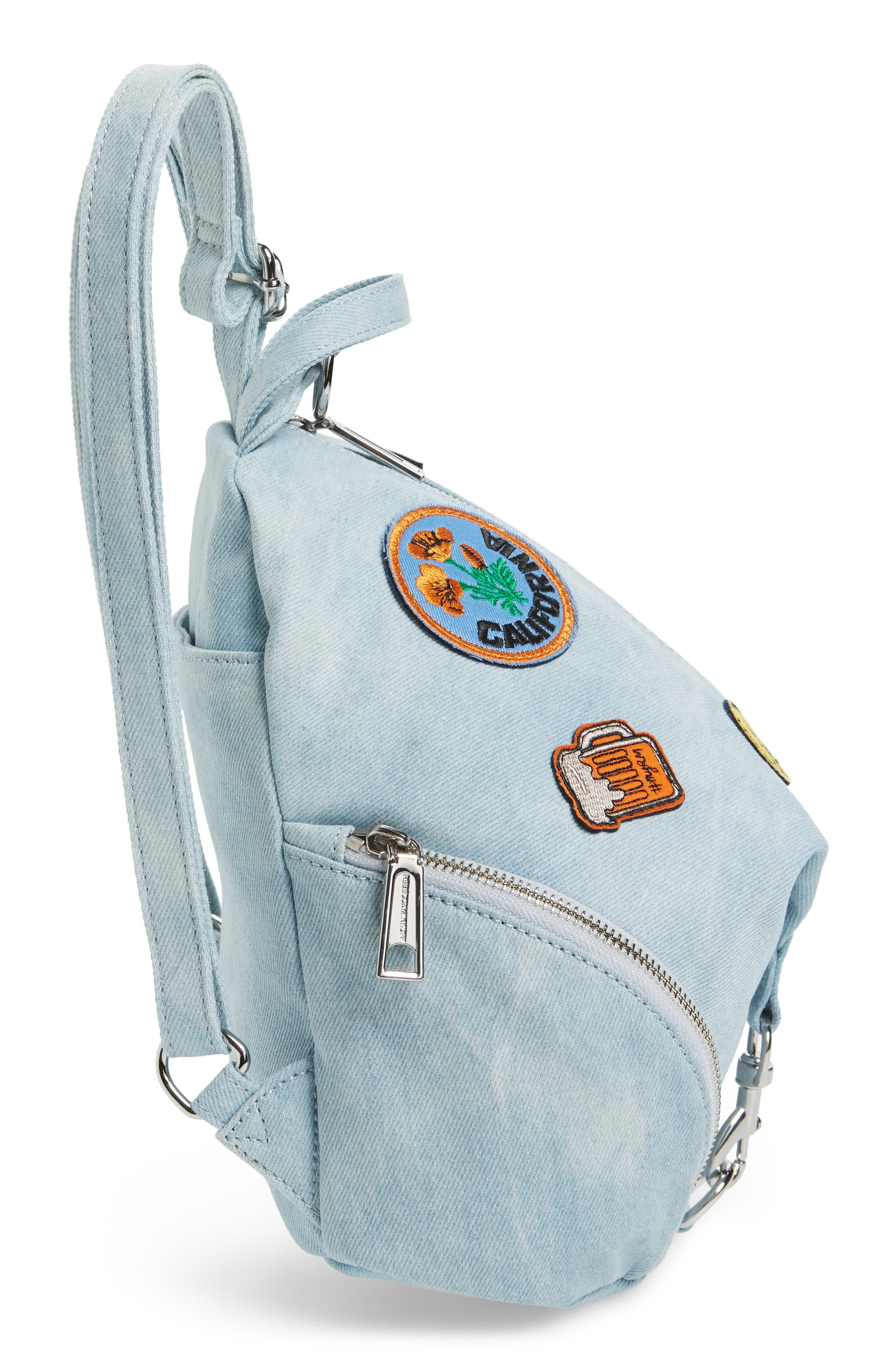 Alternate Image 5  - Rebecca Minkoff Medium Julian Patchwork Backpack